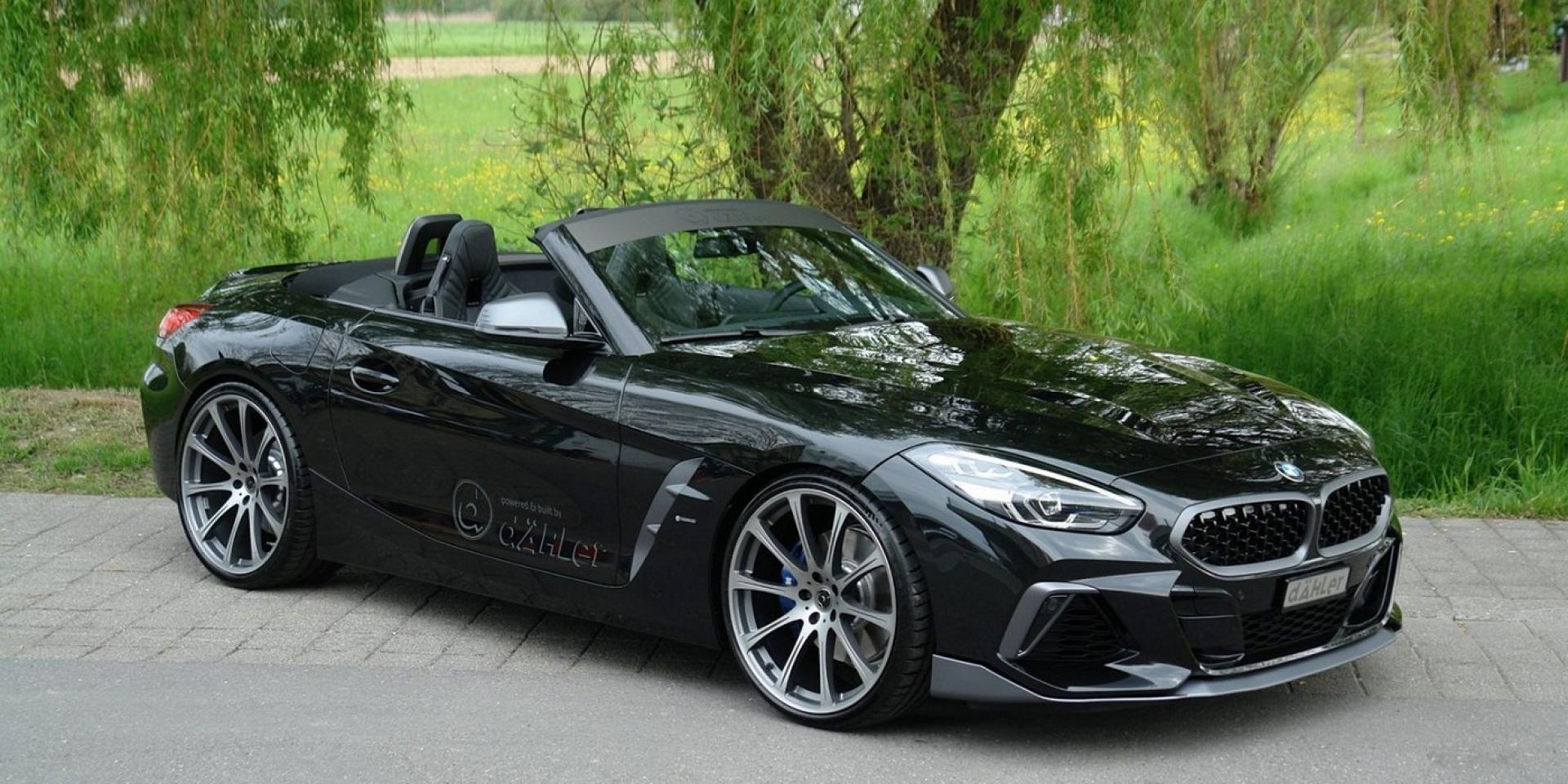 上空尤物改裝升級,Dahler推出BMW Z4 M40i升級方案