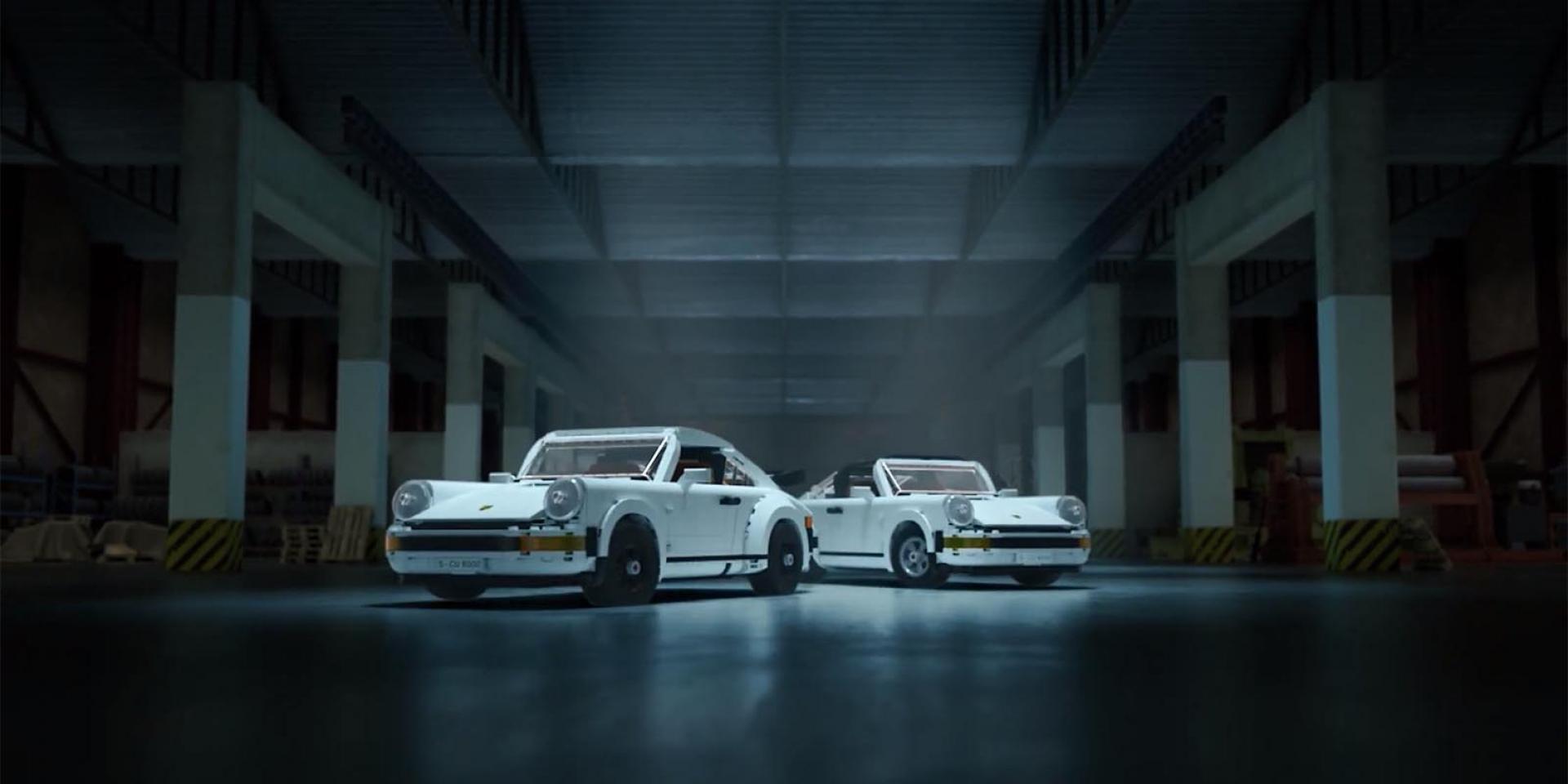 LEGO一次給你雙重經典!氣冷PORSCHE 911 TURBO & 911 TARGA模型來了