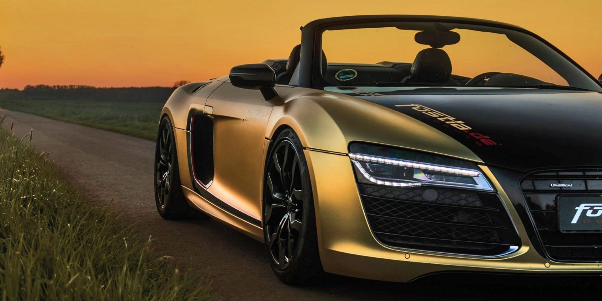 德國Fostla改裝廠 讓Audi R8 V10 Spyder更出色