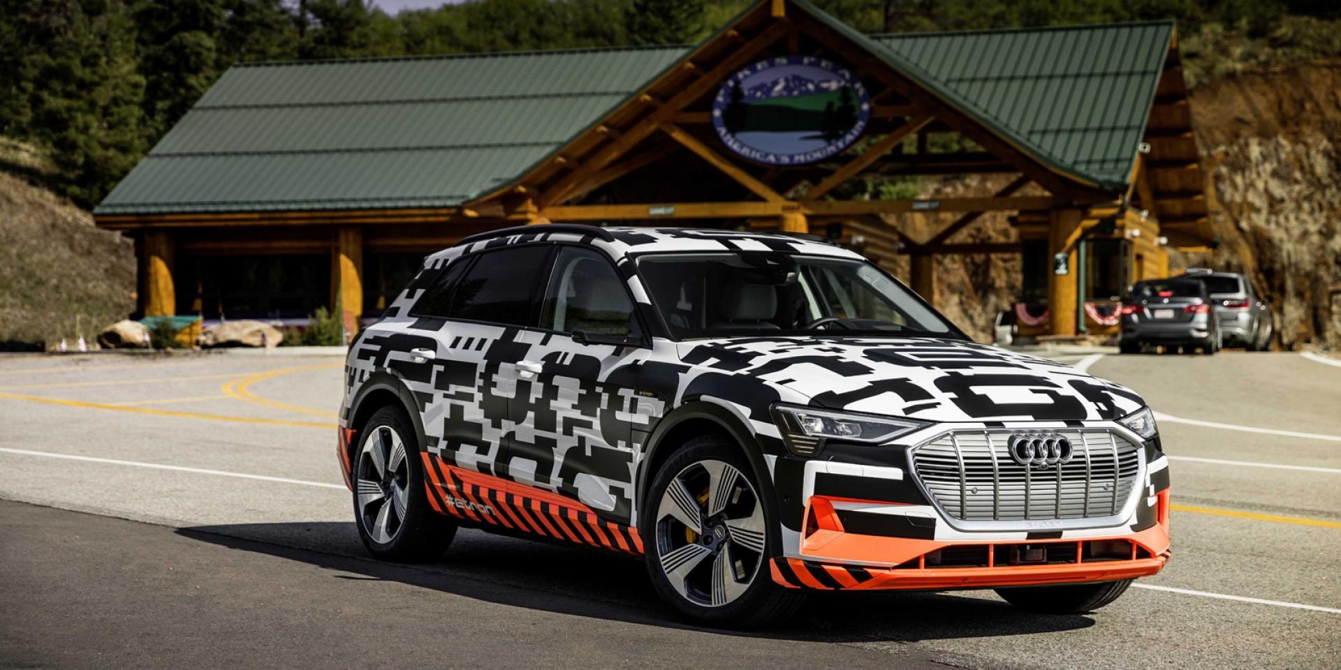 官方新聞稿。以前瞻科技全面佈局純淨移動未來 Audi強勢問鼎電動車市場