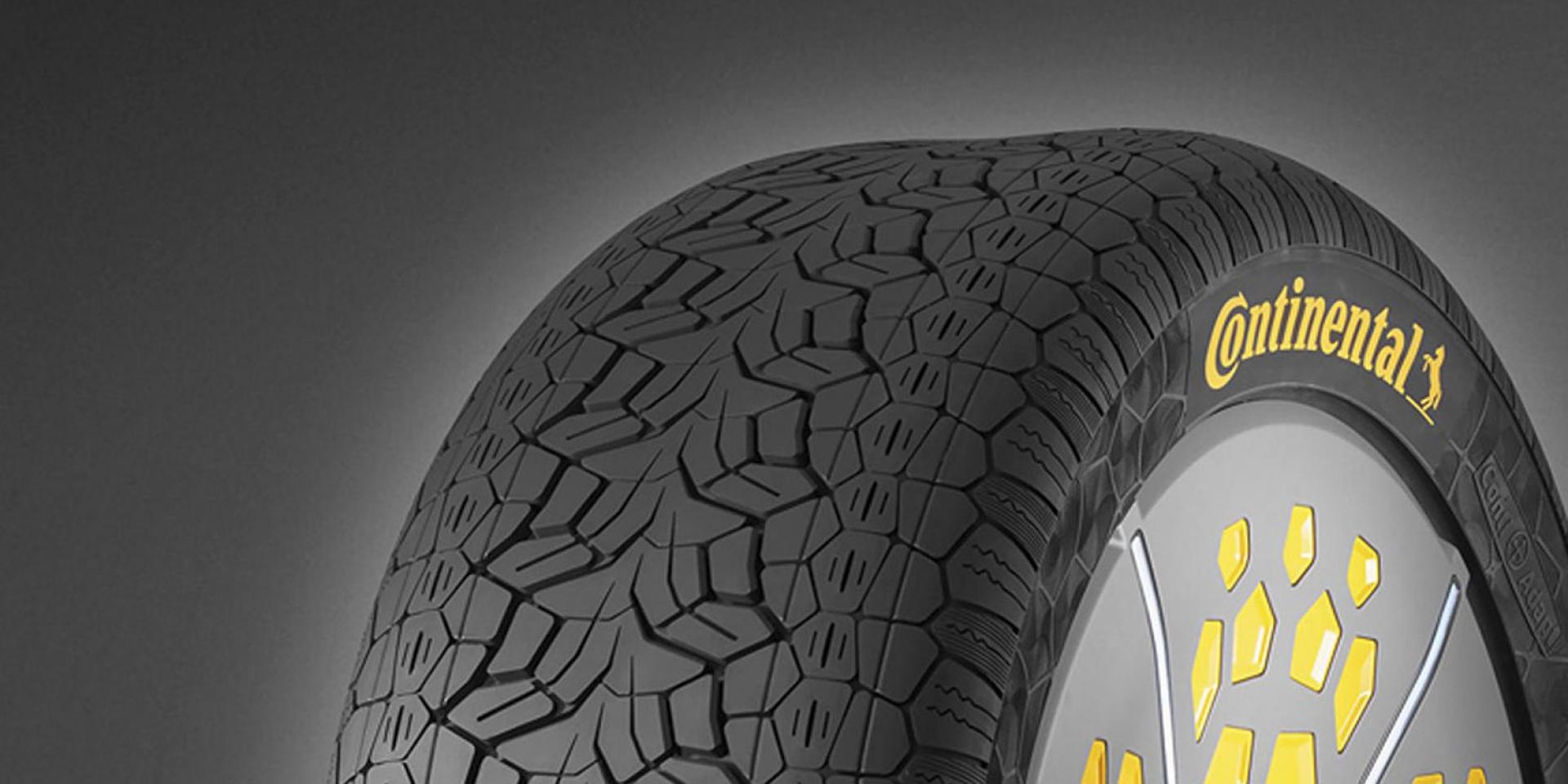 輪胎也有行車模式?!Continental馬牌輪胎發表全新電控概念輪胎