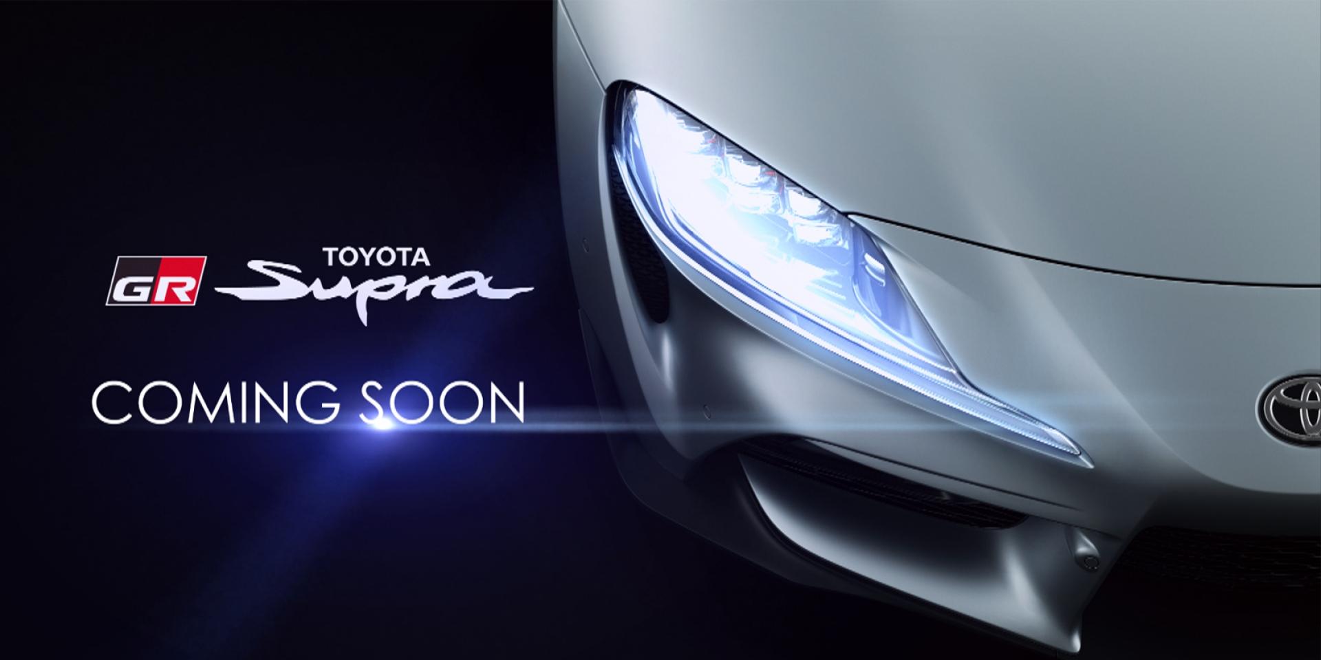 官方新聞稿。傳奇經典車款「TOYOTA GR SUPRA」 正式現身台灣!