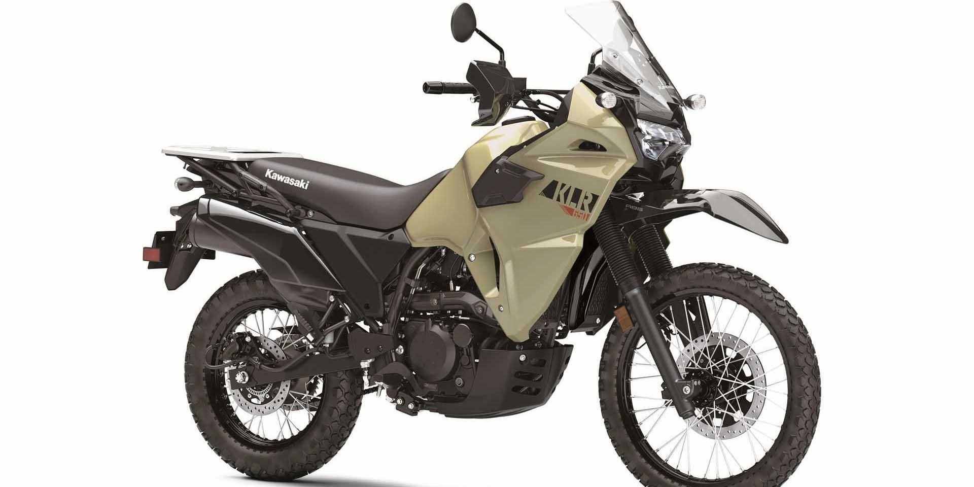 眾望所歸! 2022 Kawasaki KLR650復出!