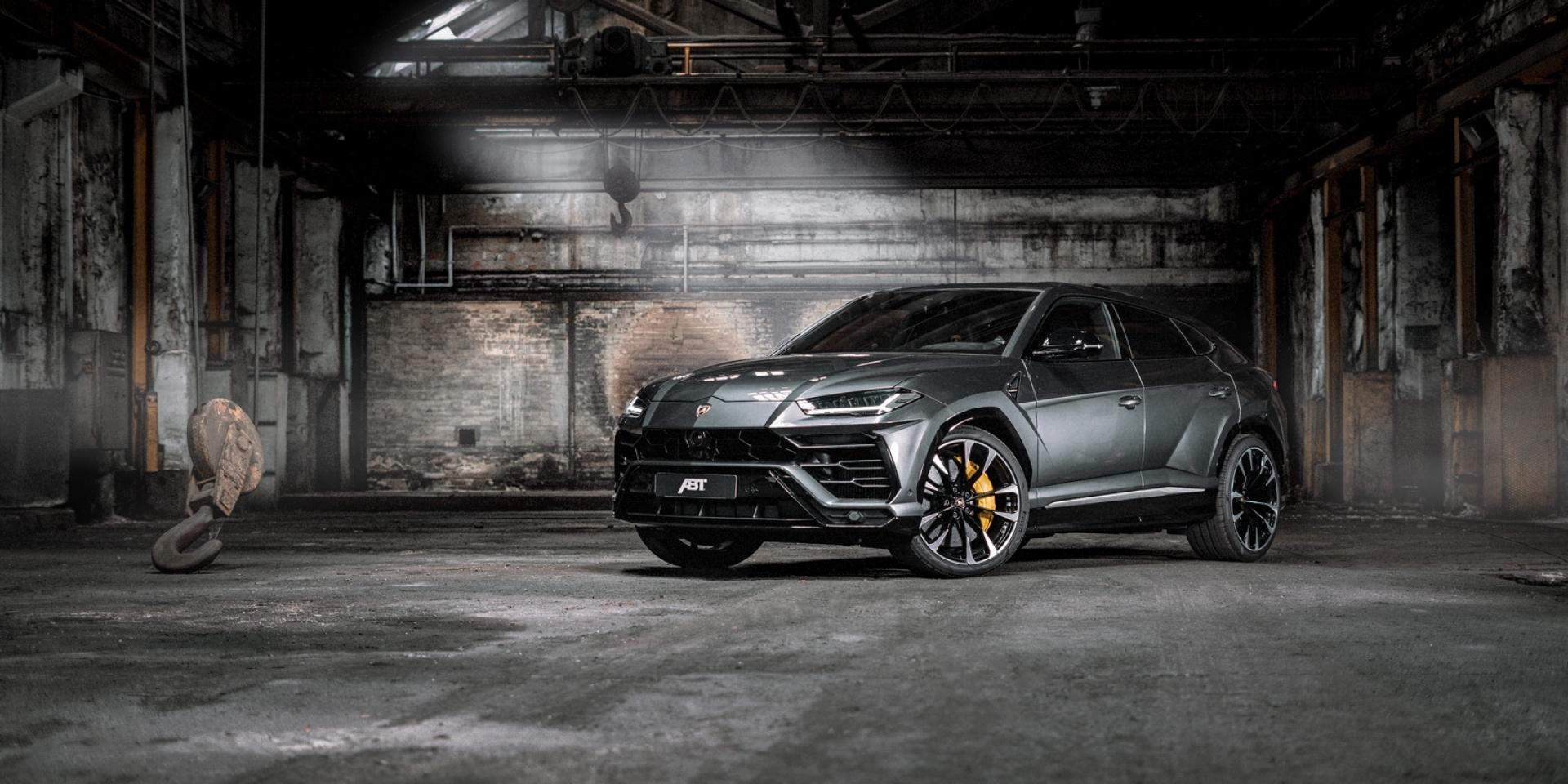 ABT首次改裝Lamborghini,Urus馬力突破700hp大關!