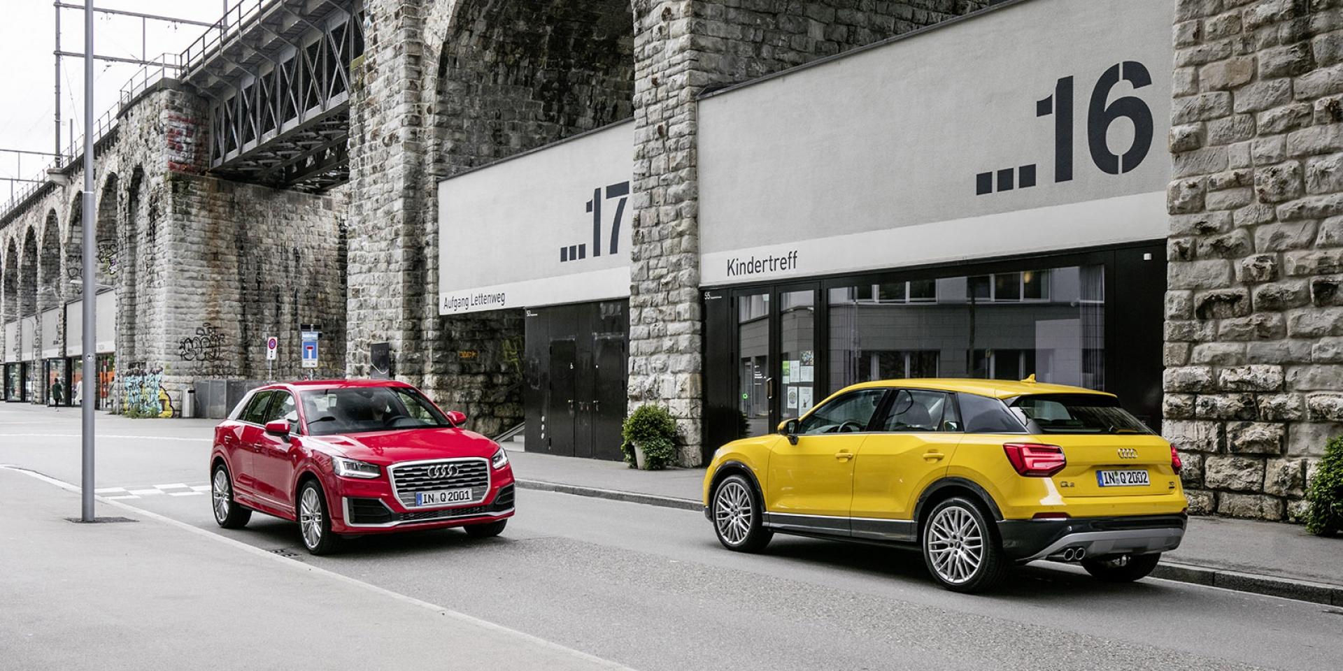 官方新聞稿。S line外觀套件等多項配備升級 Audi Q2「精彩無限版」限量上市