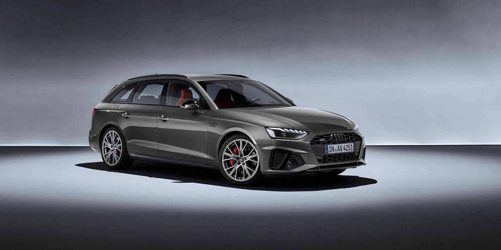 官方新聞稿。不凡氣勢由己而定 The new Audi A4  A4 Avant開始預售