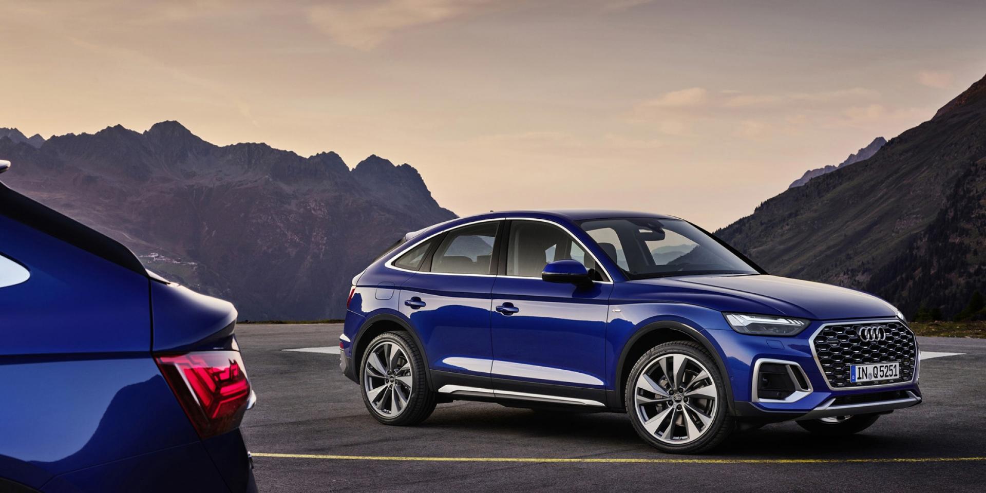 官方新聞稿。美背蹤影現身 Audi Q5 Sportback預售開跑