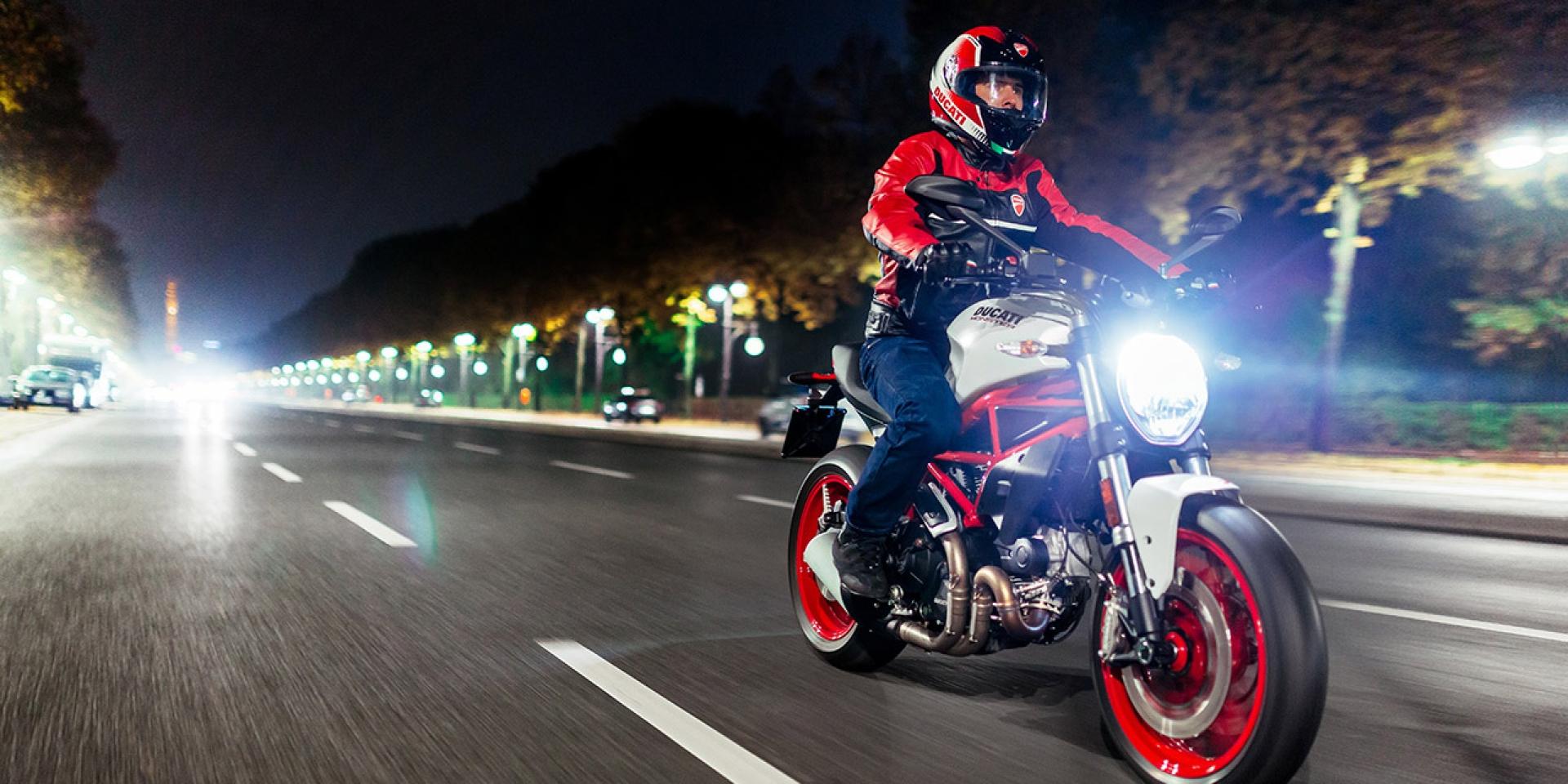 價格親民的氣冷怪獸。Ducati Monster 797