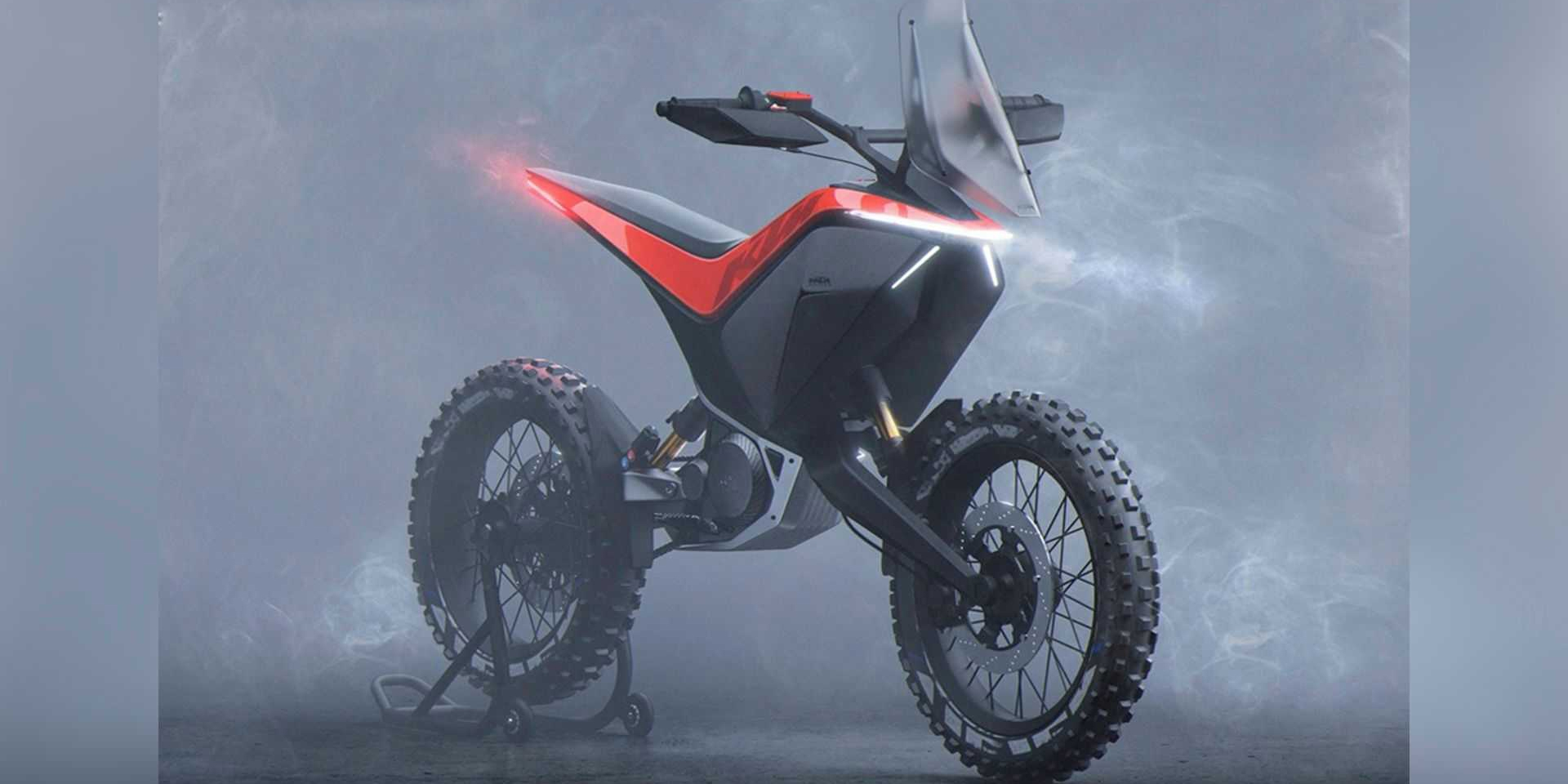 預算無上限的野心 ! KTM Light Adventure Concept - Julien Lecreux