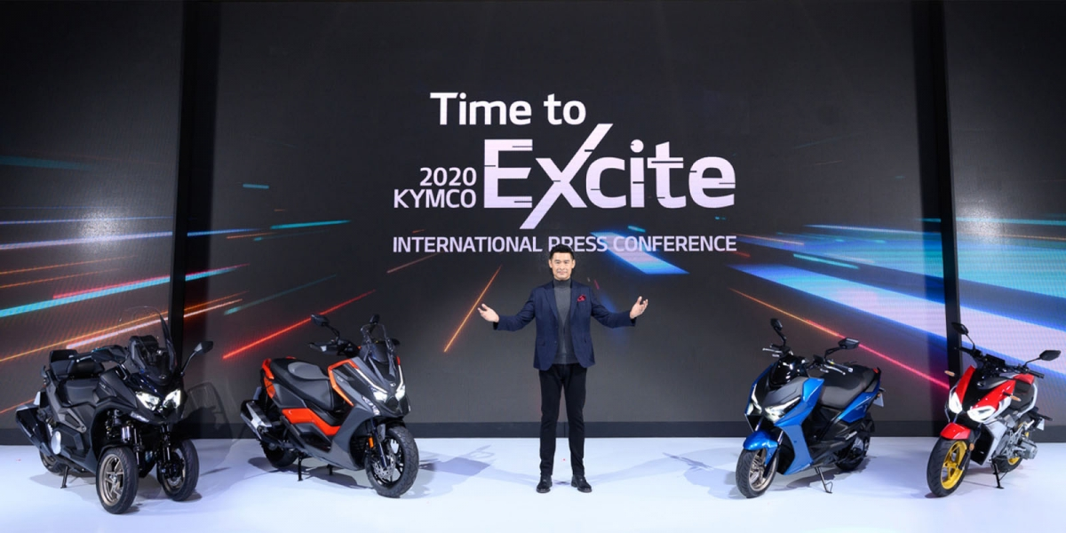 KYMCO全面超越發表會3月18號再次啟動,全新電動車即將登場!