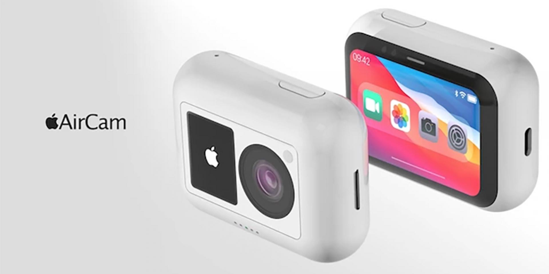 搶攻運動攝影市場?APPLE AirCam運動相機概念渲染圖現身!