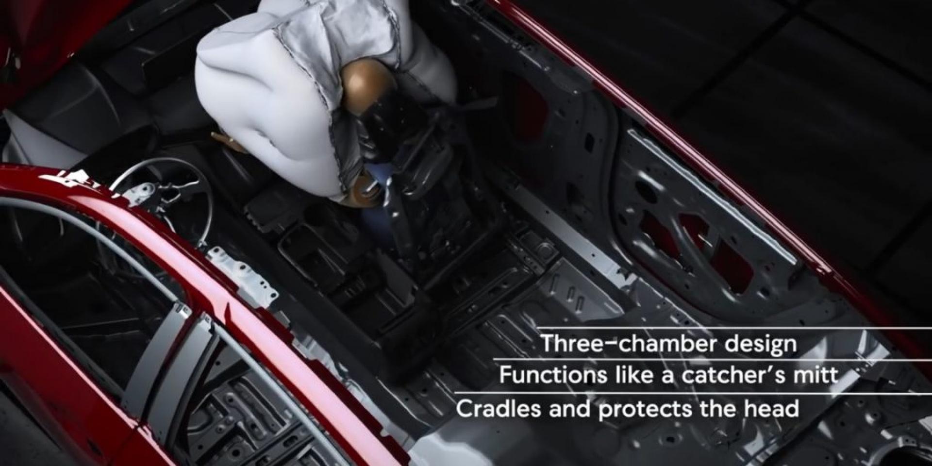 氣囊新技術!2021 Acura TLX搭載包覆式氣囊更安全!