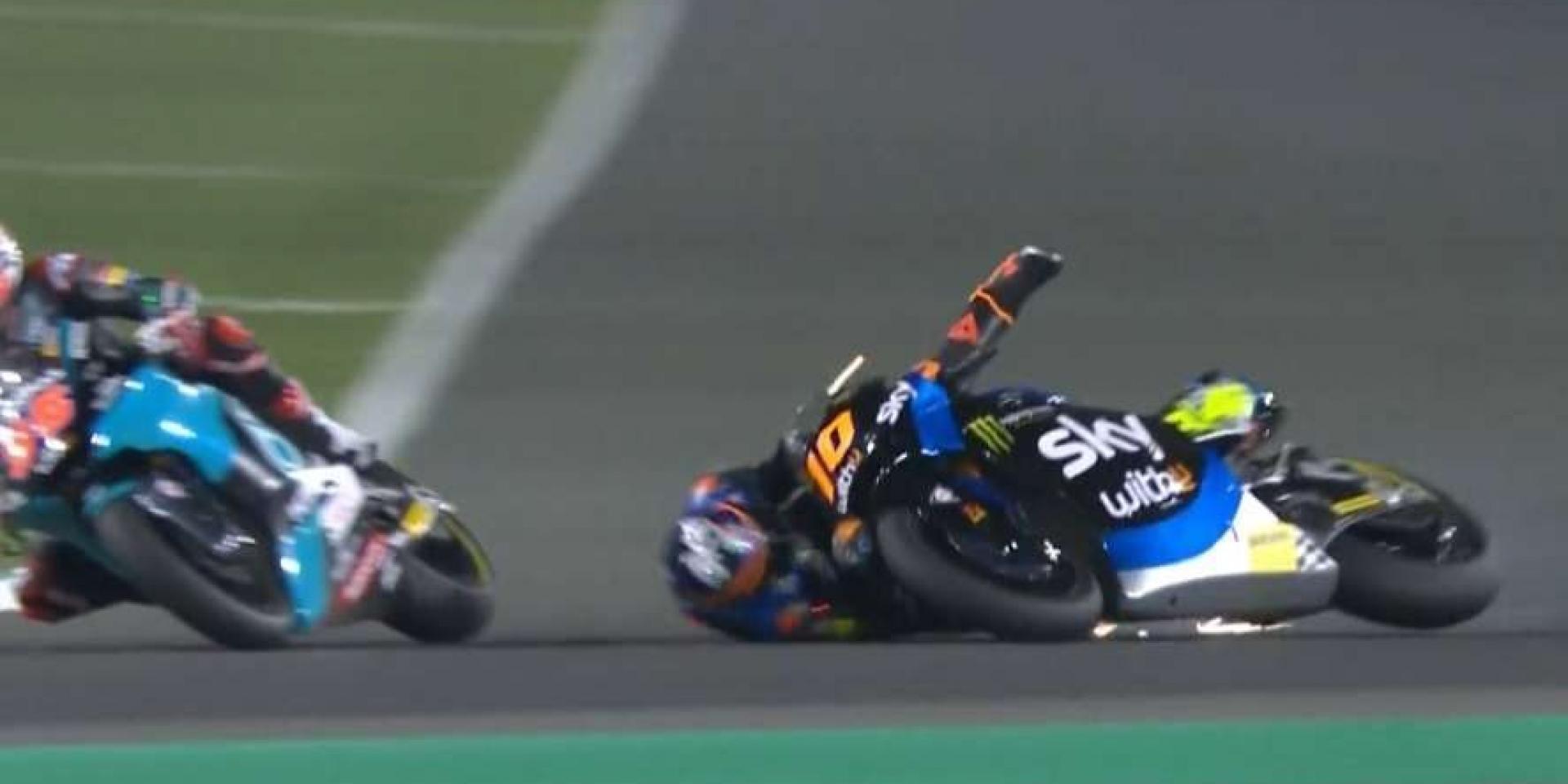 完美開場,悲劇收尾!Luca Marini在Qatar的本季首冠夢碎!