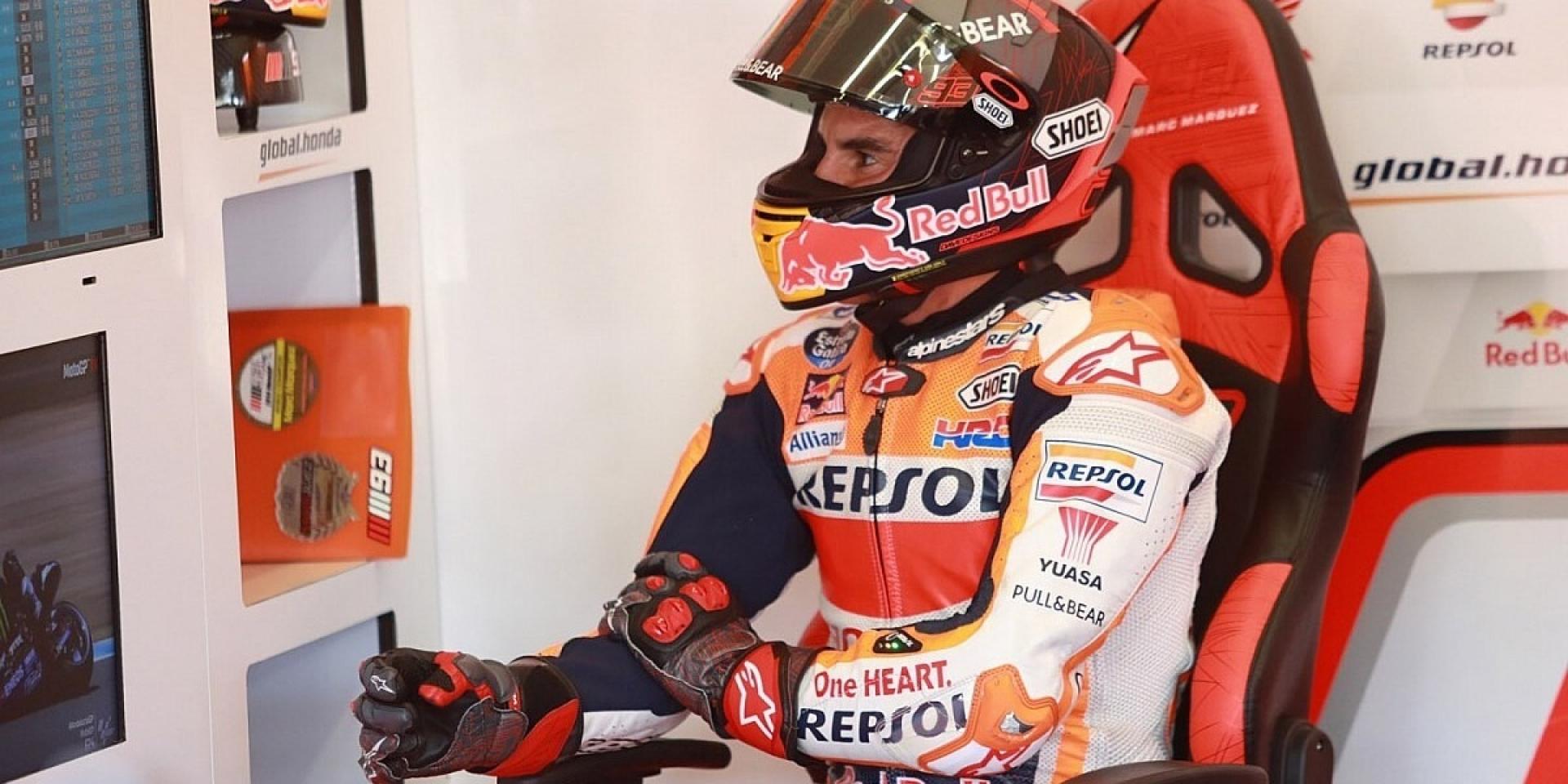 身體已經達到極限!Marc Marquez退出本週Andalusian GP大賽!