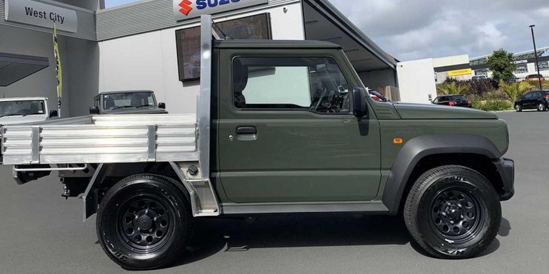 紐西蘭當地獨創,Suzuki Jimny皮卡版本