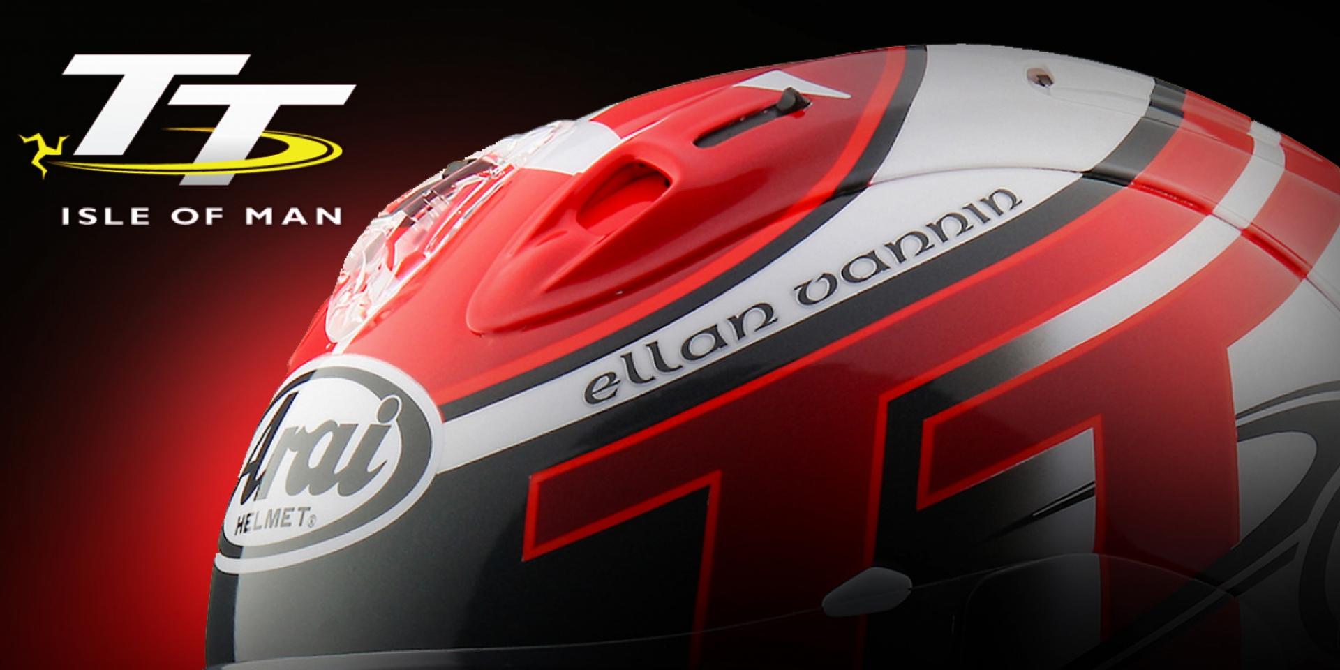 經典賽事再發光。Arai 2016 TT特仕帽發表登場