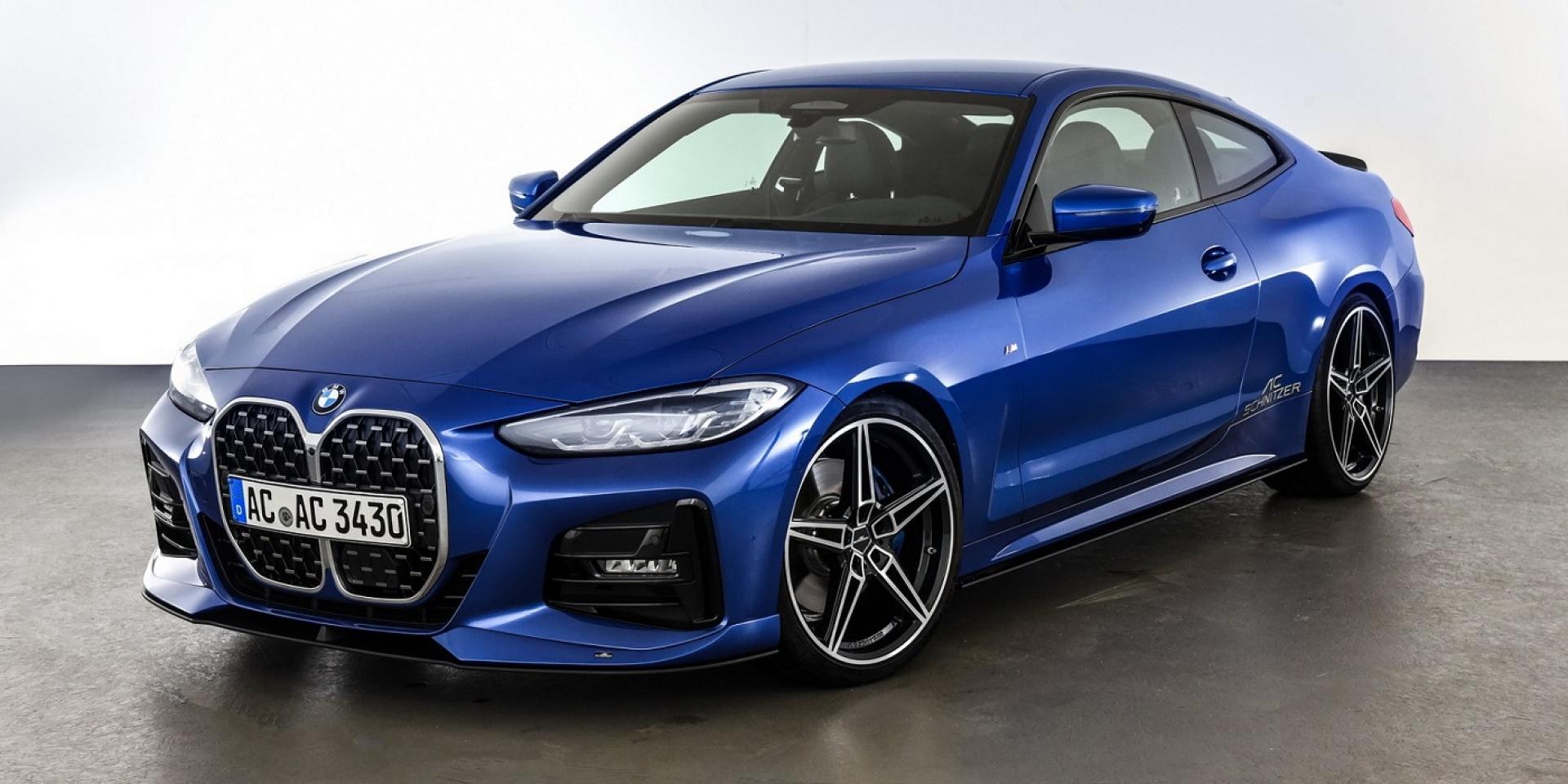 AC Schnitzer推出BMW 4系列改裝套件,預計明年二月正式亮相