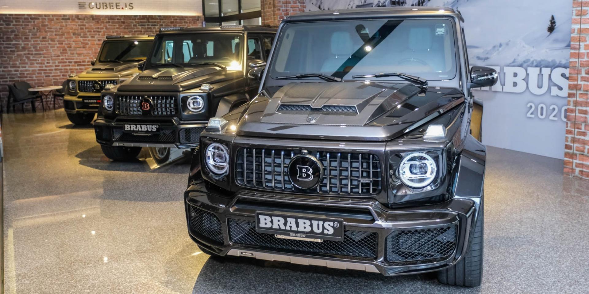 800匹的奢華硬漢,平均售價1,500萬!BRABUS G800台灣正式發表