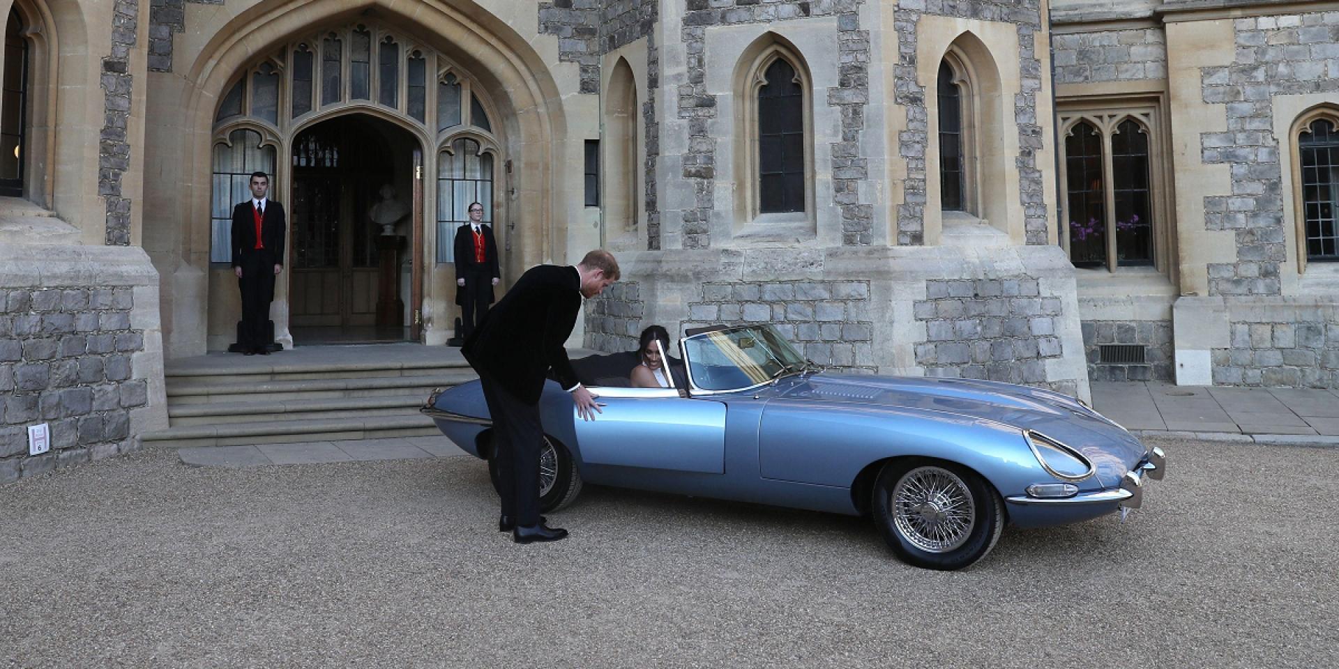 英國王室婚禮另類亮點,Jaguar E-Type Zero搶先亮相!