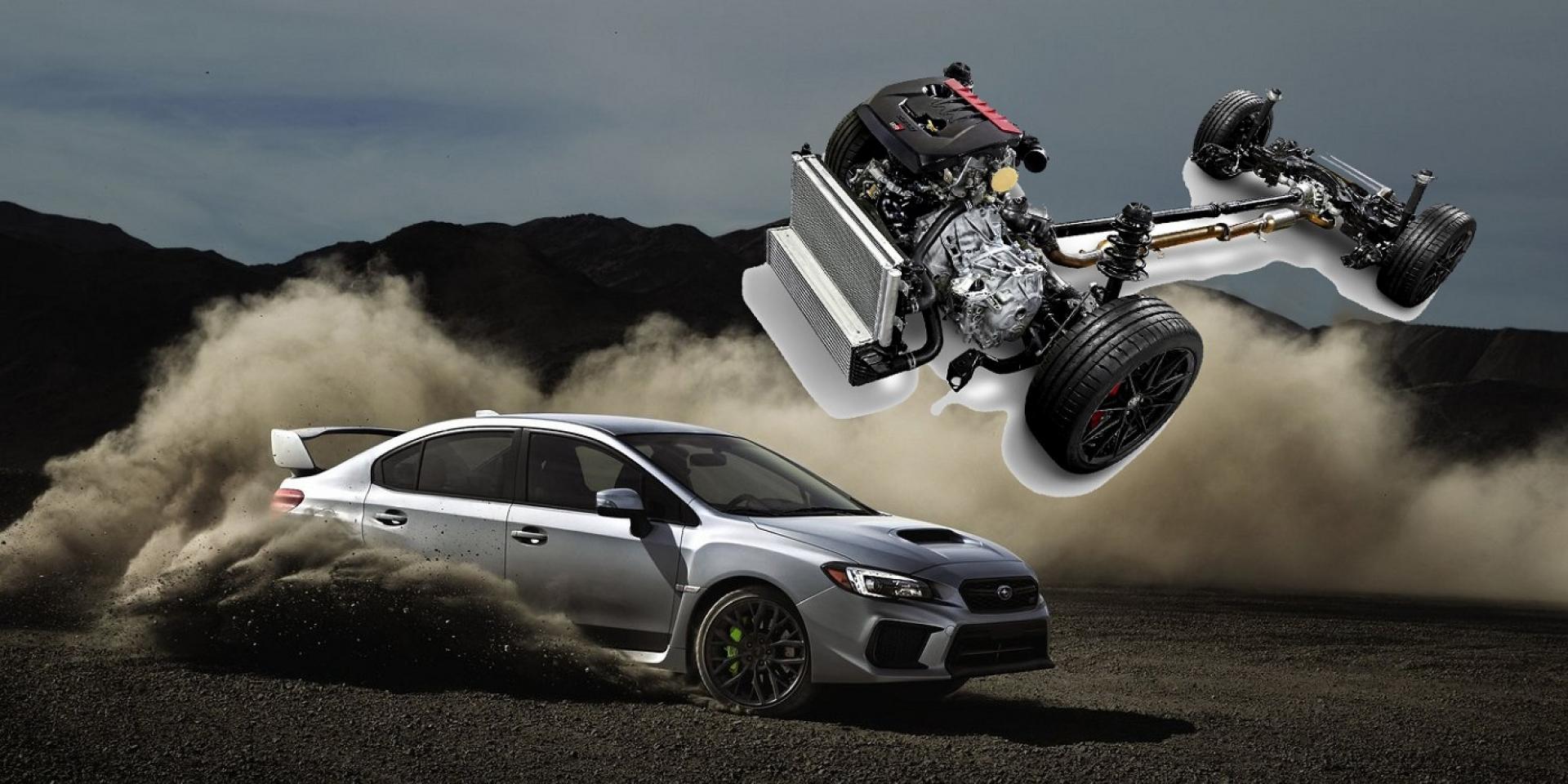 Subaru再次與Toyota合作,共同開發全新AWD系統