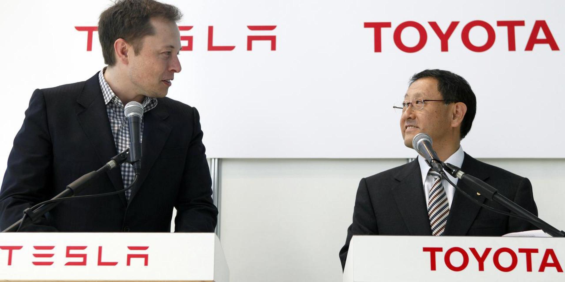 雙T聯手!TOYOTA、TESLA有望合作開發小型電動休旅