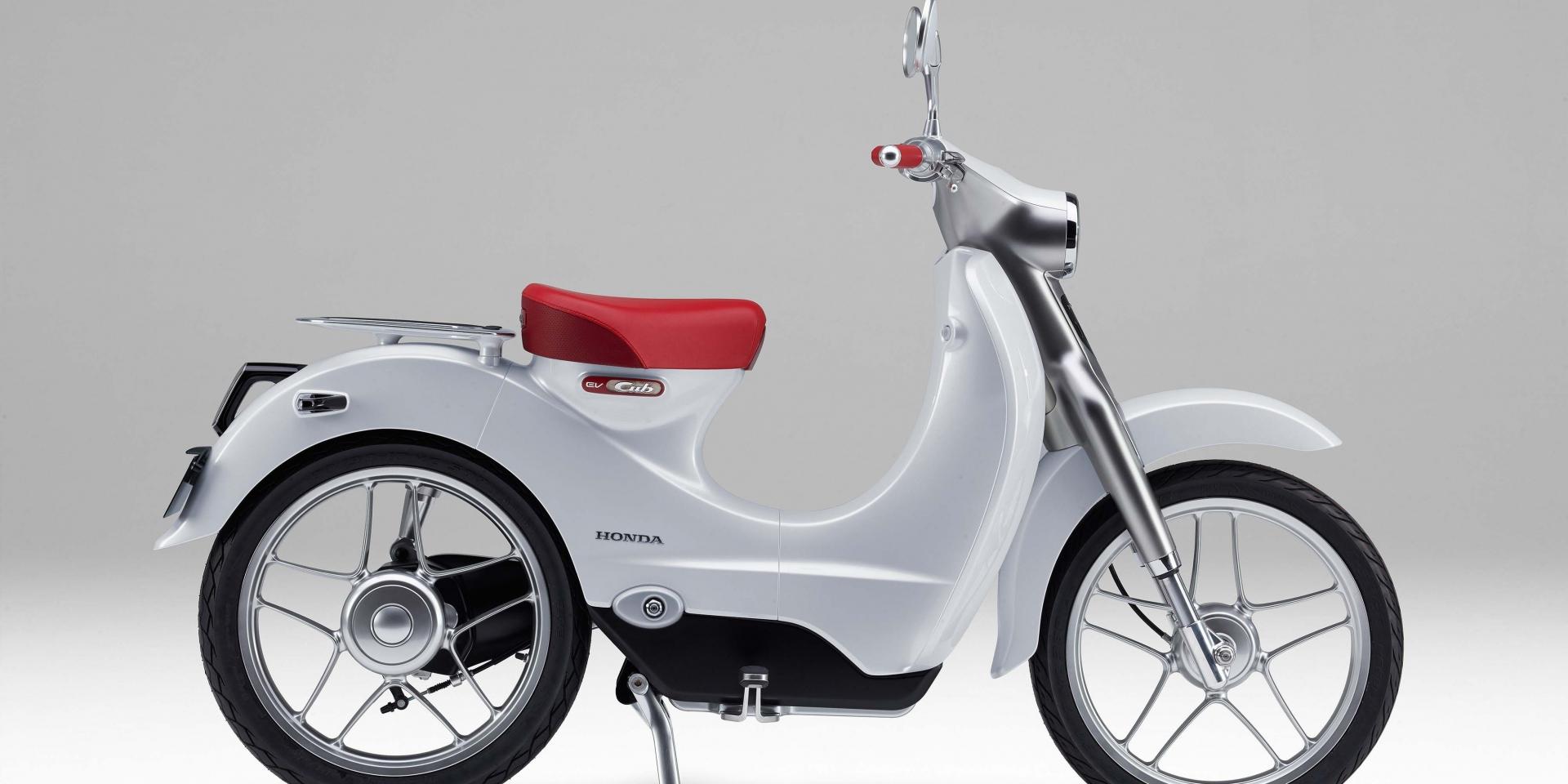 電動開發確認!Honda明年推出電動速克達並且將有混和動力車型出現