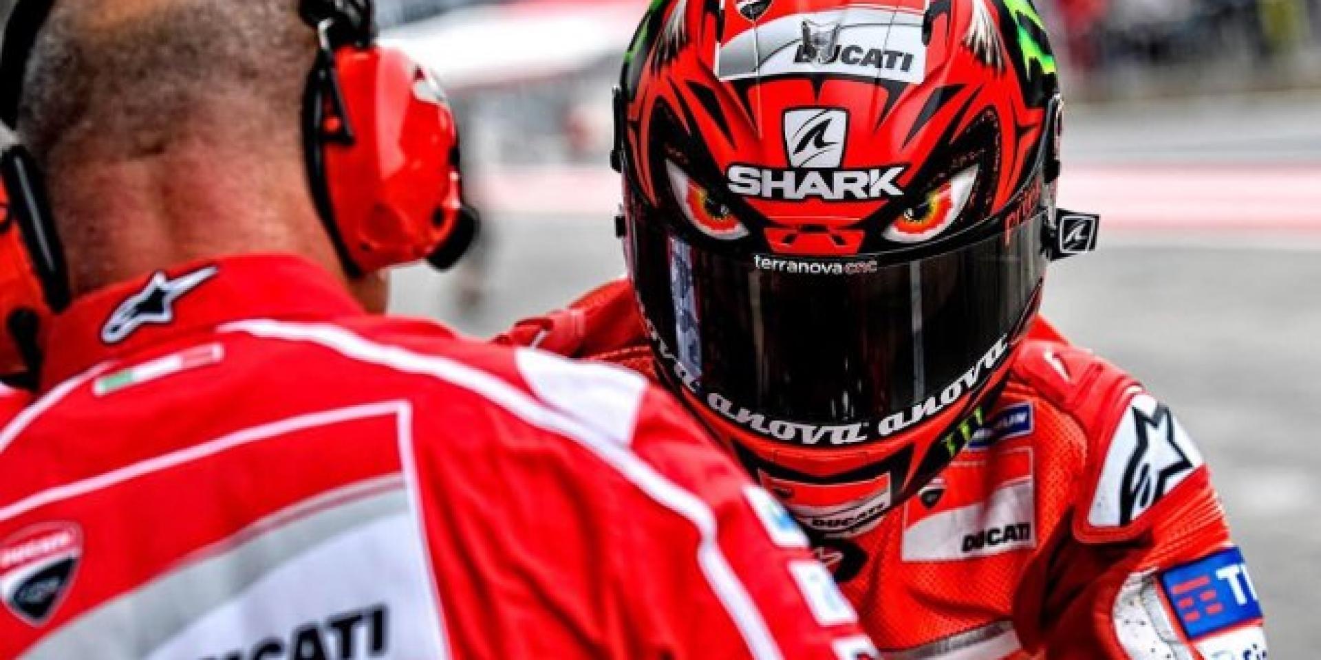 "Lorenzo 奧地利GP 專屬彩繪帽-SHARK Race-R Pro ""Diablo"""