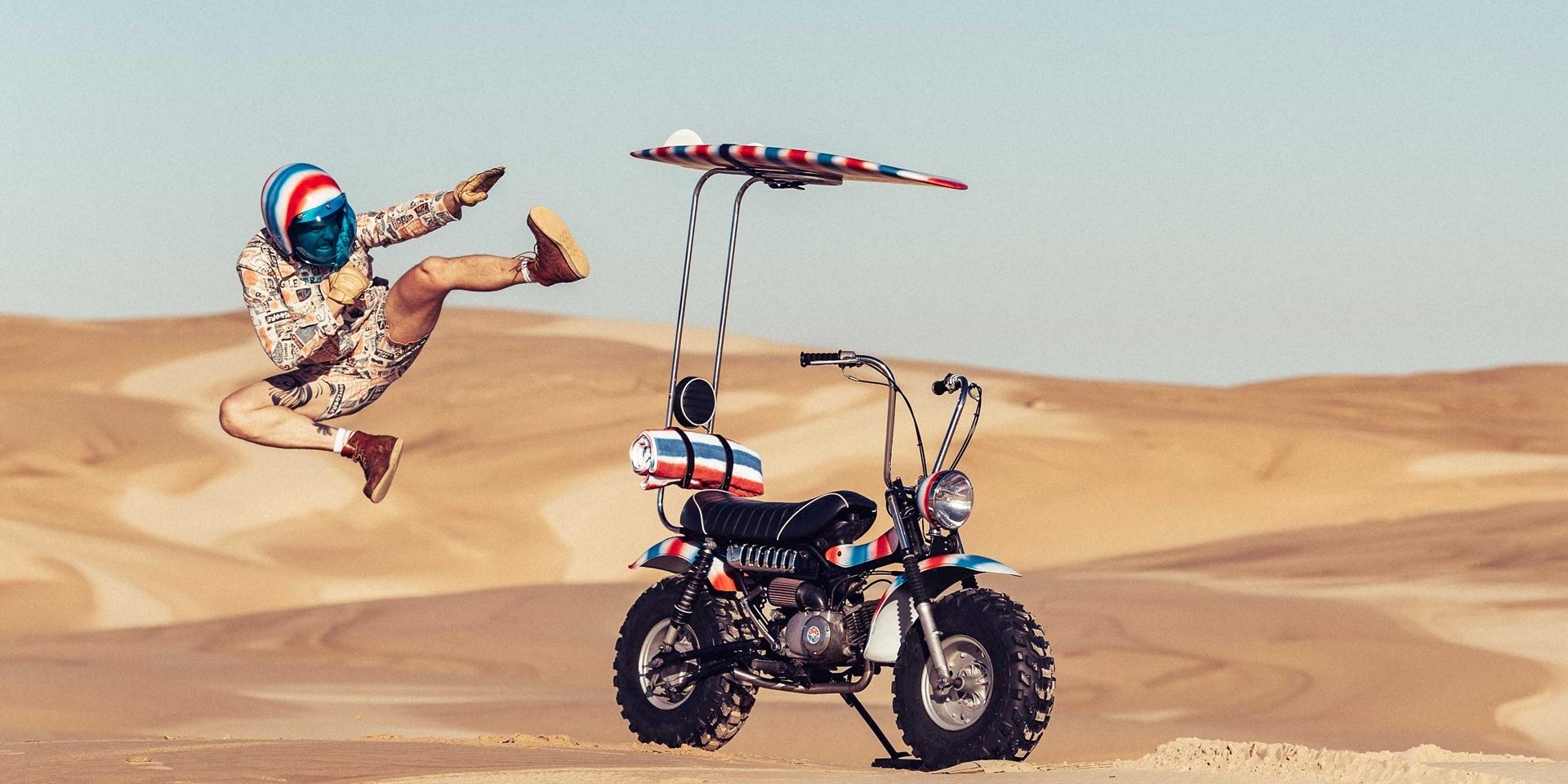 我們與浪的距離 -SUZUKI  RV90 THE GOOF Bike by Paul McNeil