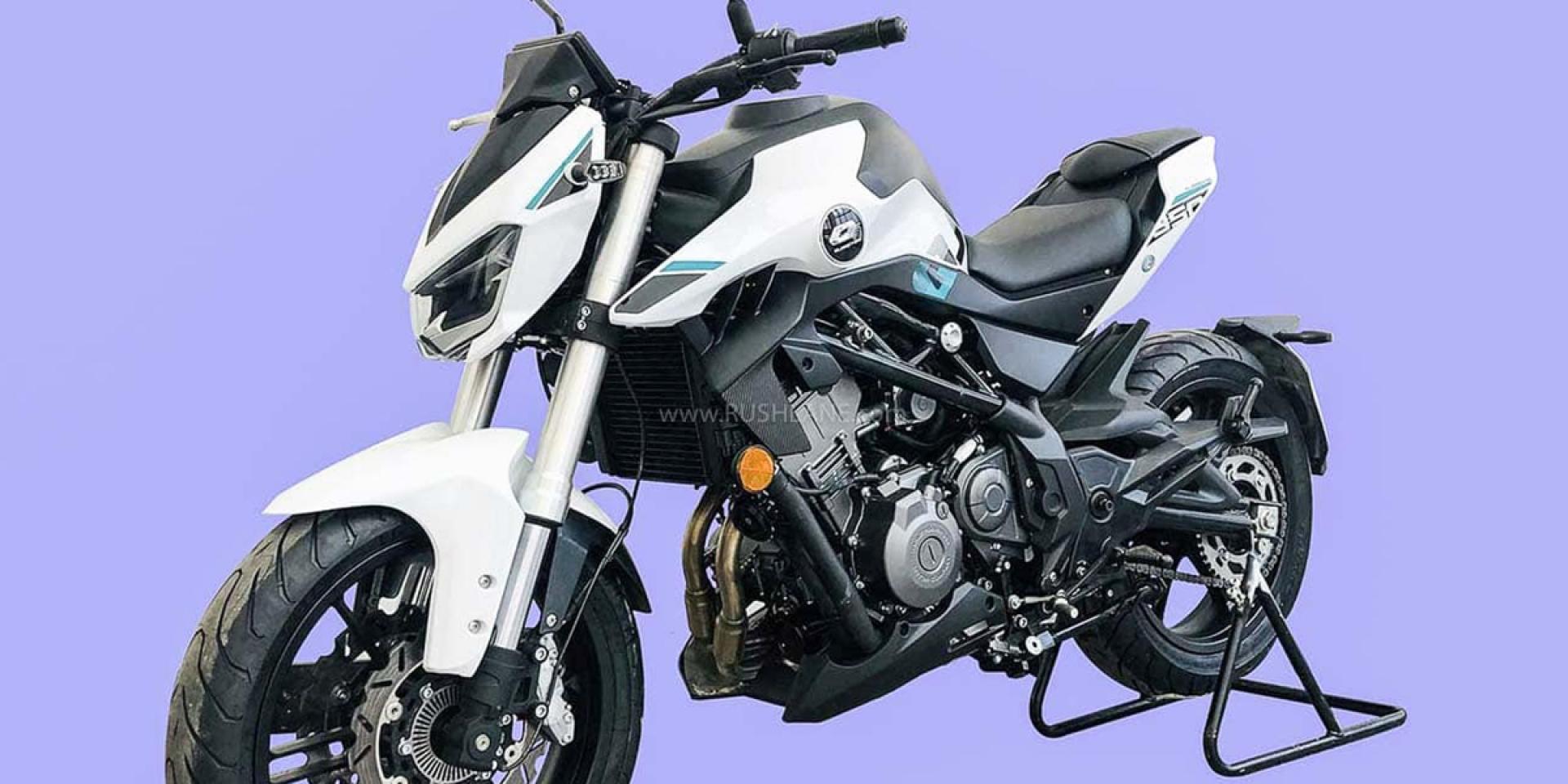 Harley-Davidson HD350雙生車?錢江QJ350實車曝光!