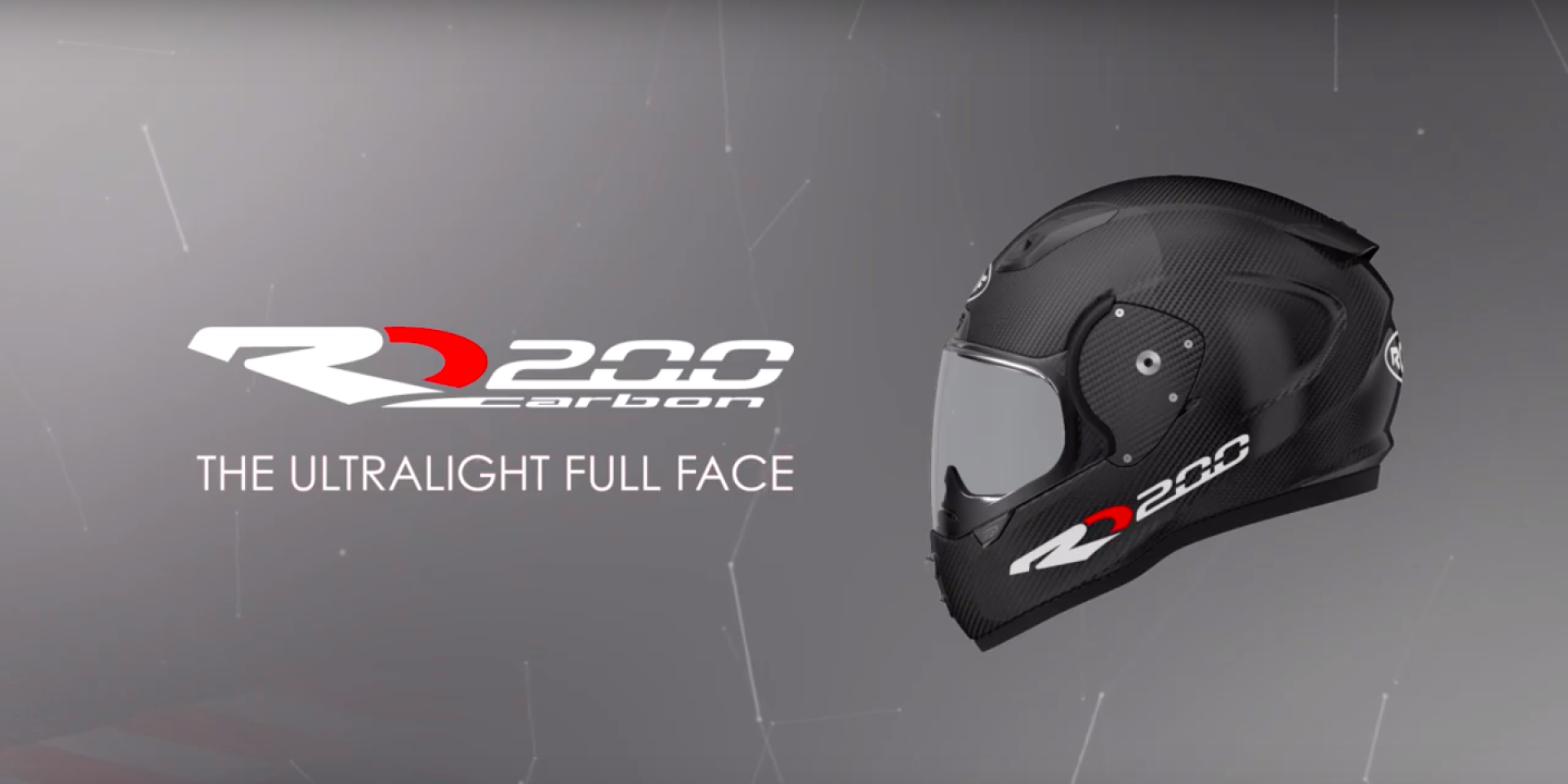 世界最輕全罩安全帽 Roof RO200僅重1090公克