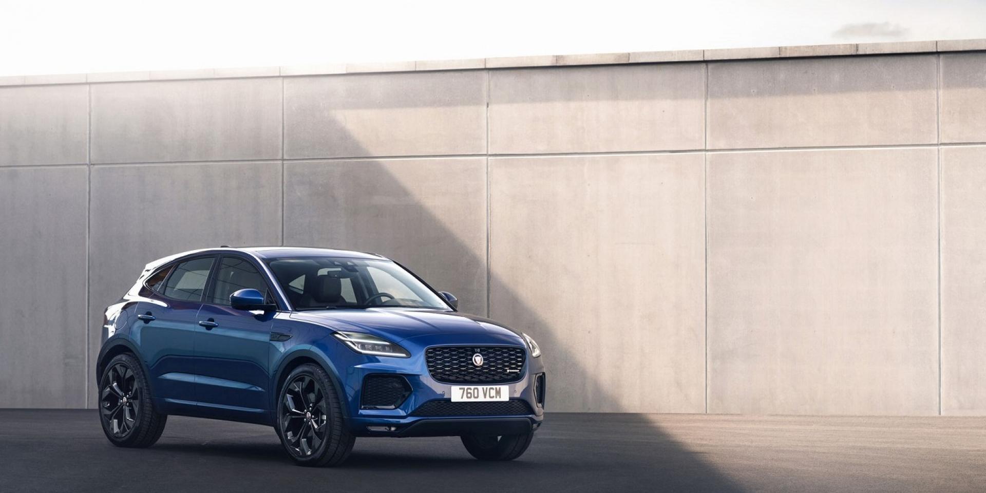 細節精進、性能升級,小改款Jaguar E-Pace小改款上市