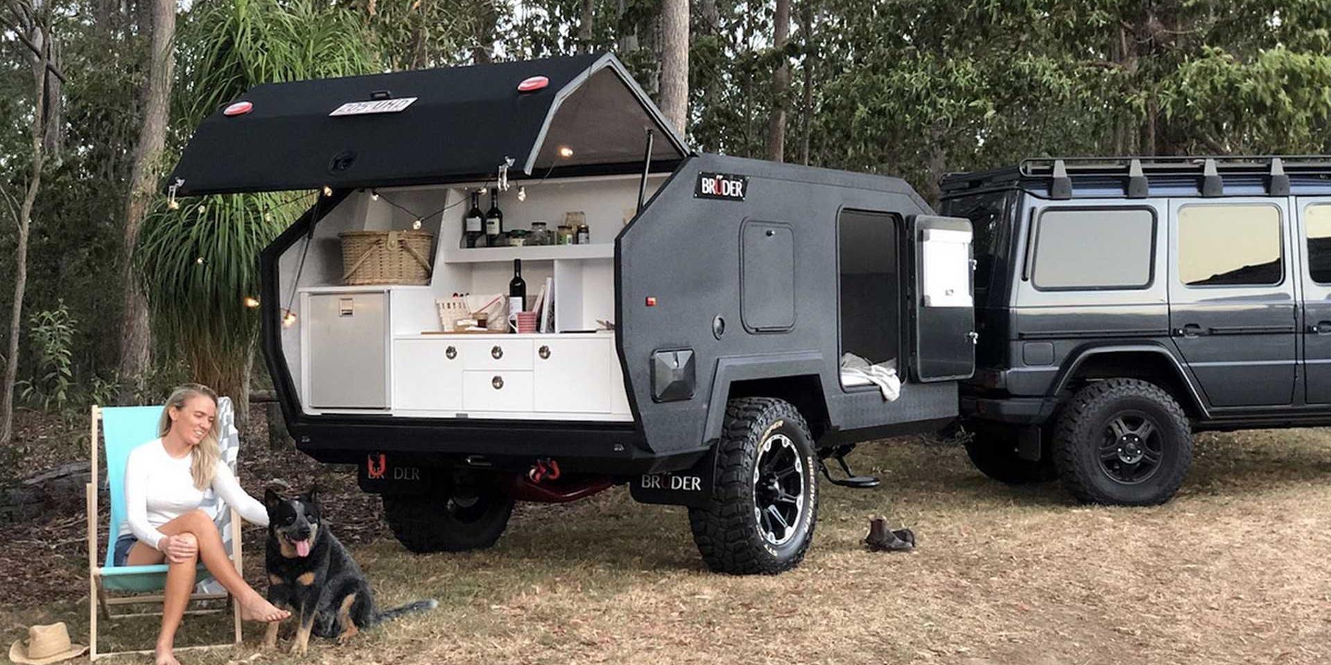 上山下海也不是問題!這款露營拖車比你的車還要越野!