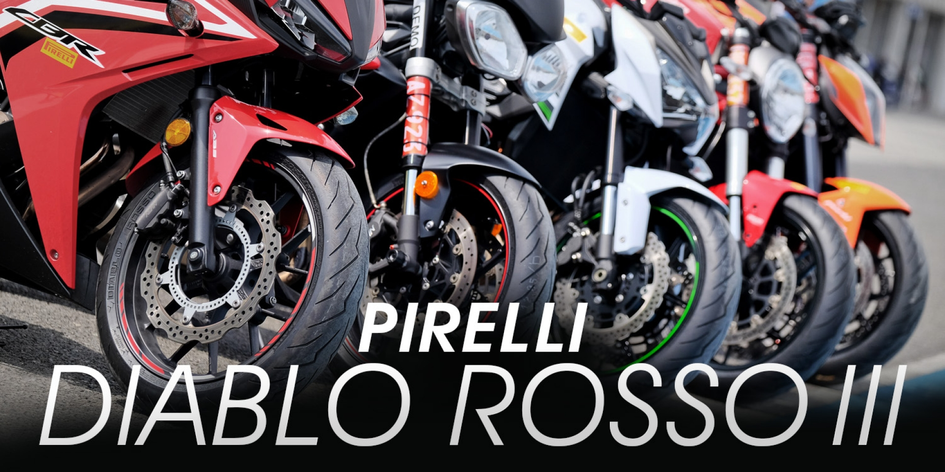 PIRELLI年度賽道盛會。最強街跑胎DIABLO ROSSO III紅閃電,全面剖析