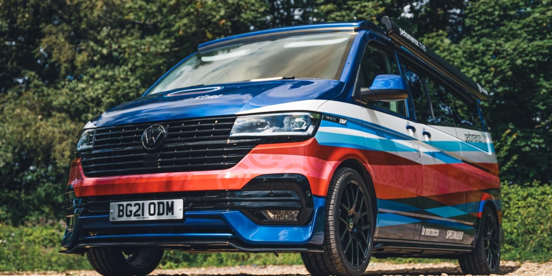真人版米其林主廚快餐車!英國VW把一台Transporter 6.1改成一個高級廚房