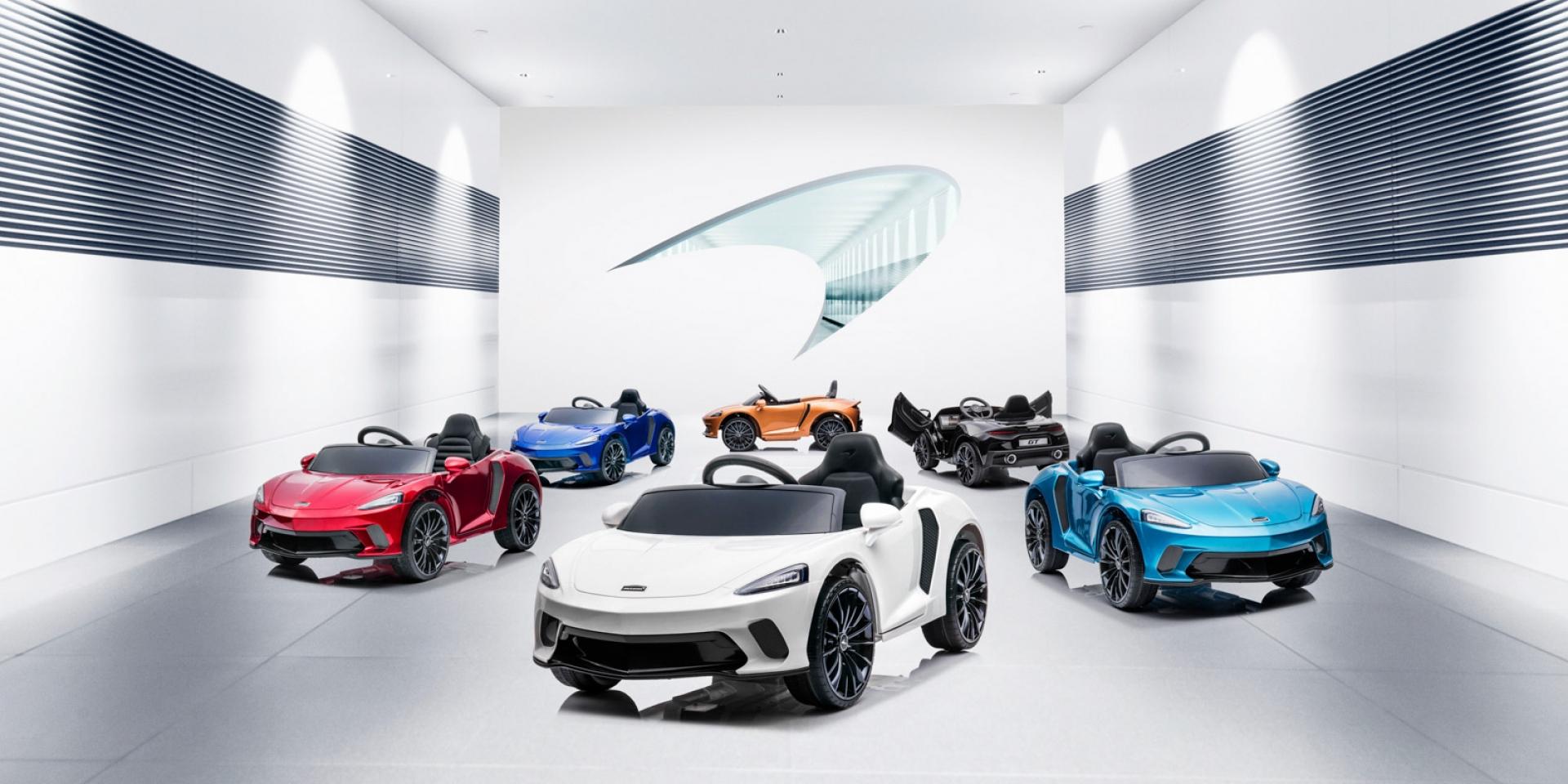 超跑 爸爸買給你!McLaren GT兒童電動車