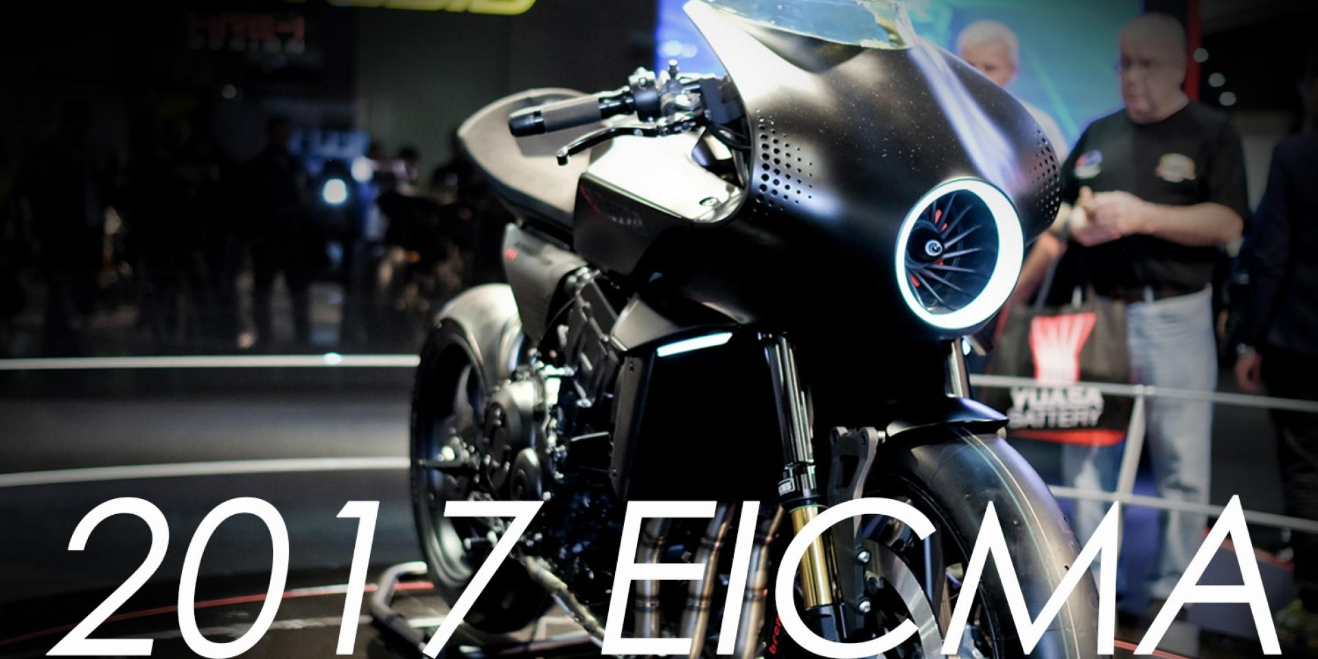 2017米蘭車展。HONDA CB4 Interceptor Concept展演現代Cafe Racer樣貌