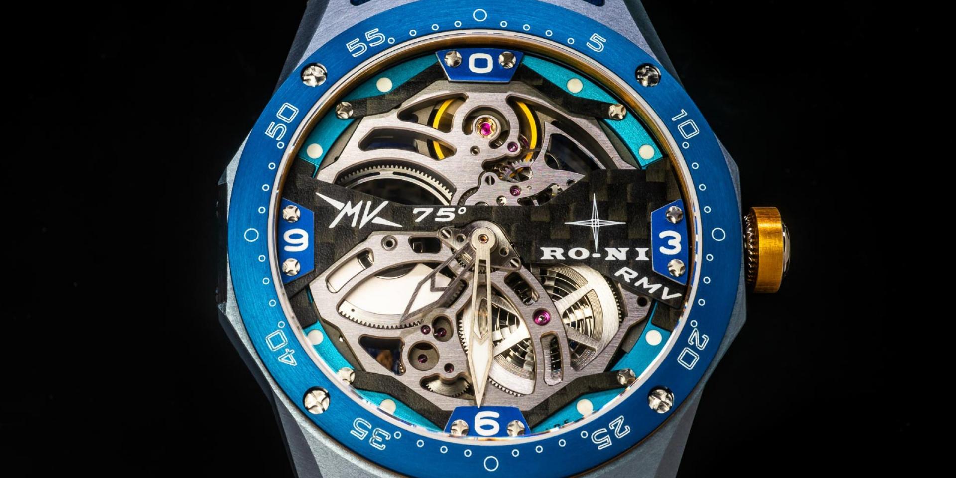 有錢才買的到時間 ! MV Agusta x RO-NI - RMV Hyperwatch75隻限量發售