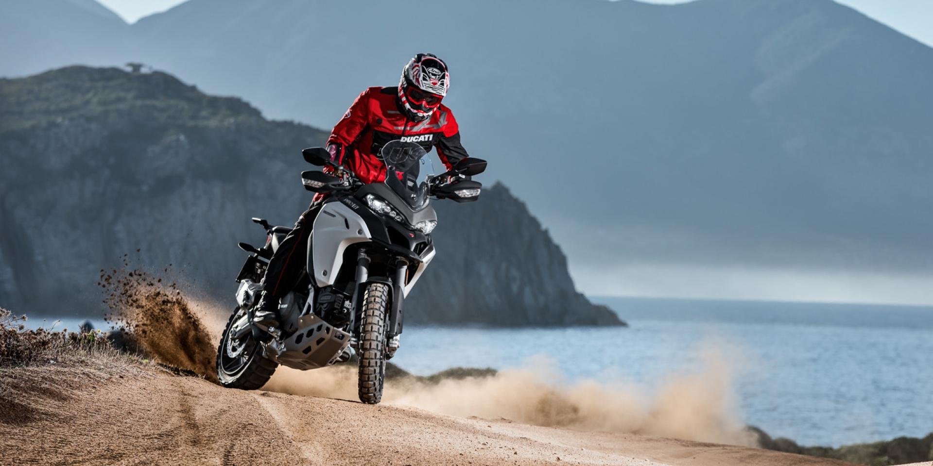 米蘭車展。全功能增高 Ducati Multistrada 1200 Enduro小改款首演