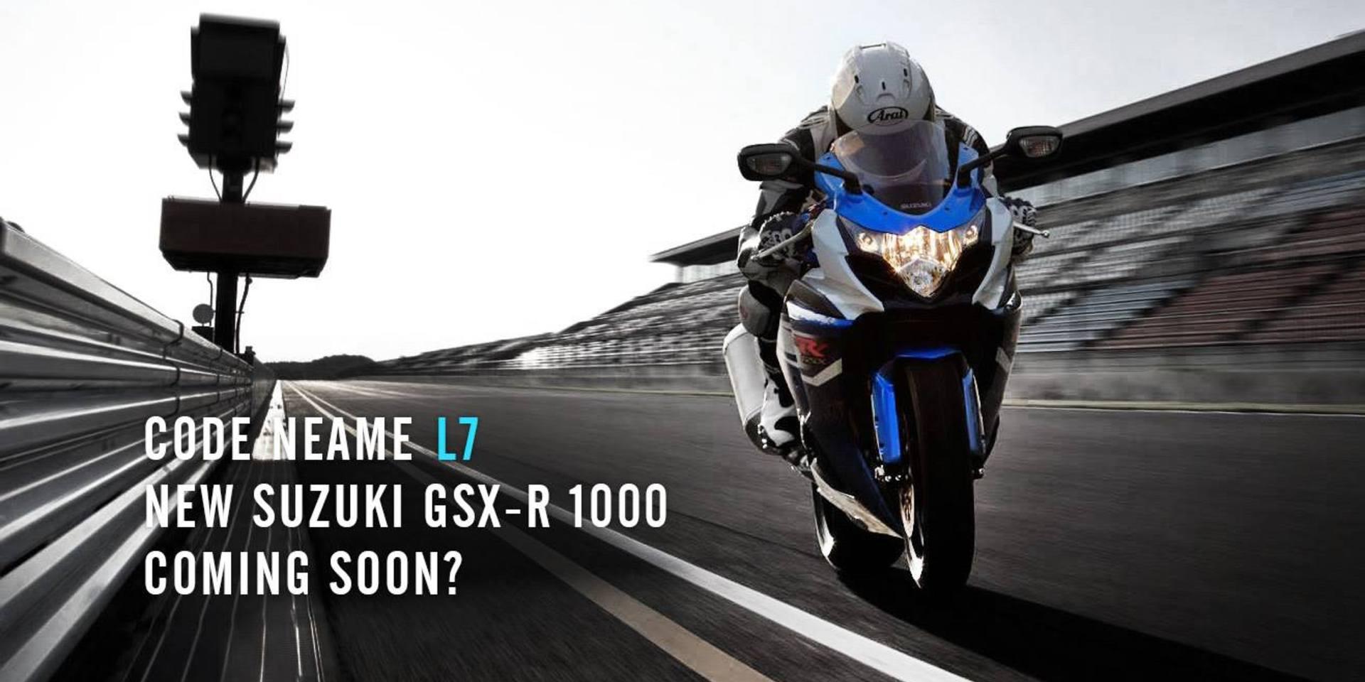 代號L7 !。全新SUZUKI GSX-R 1000年底發表?!