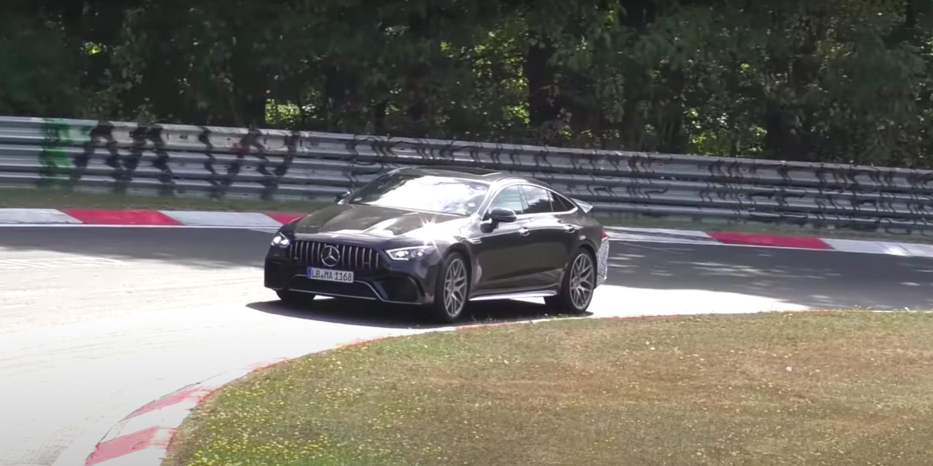 挑戰最速「主管級房車」?Mercedes-AMG GT 73e紐伯林測試中!