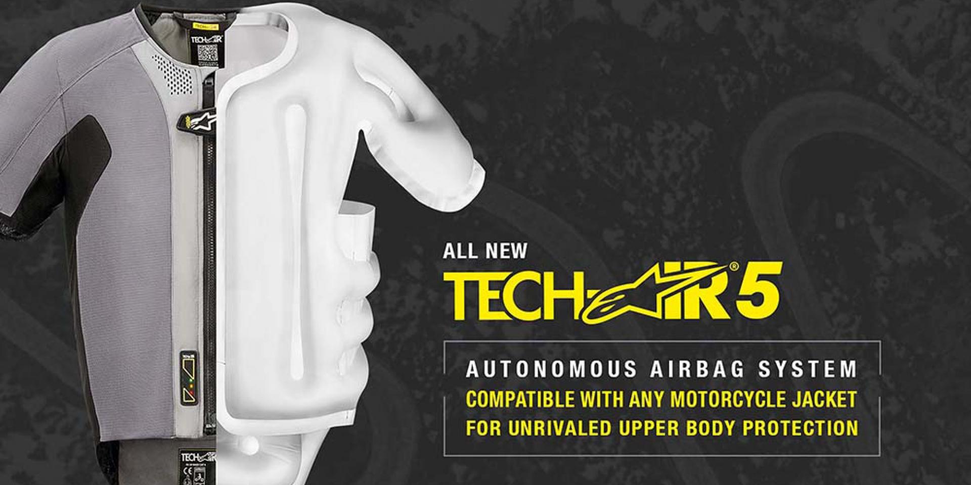 Alpinestars 「Tech-Air 5 獨立氣囊背心」美國CES展亮相!