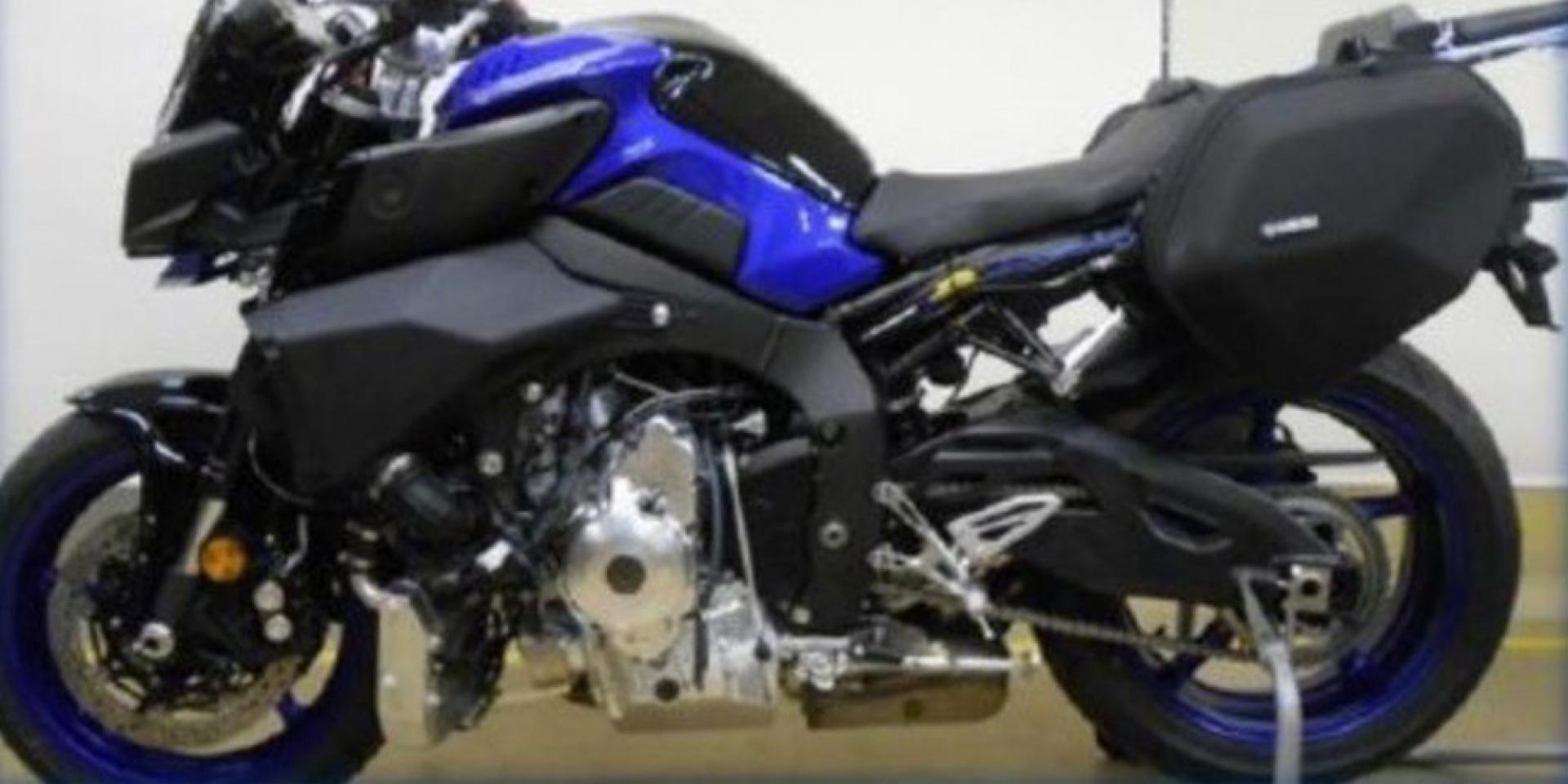渦輪MT-10?YAMAHA三缸渦輪測試車曝光,180匹馬力、缸內直噴低排放!