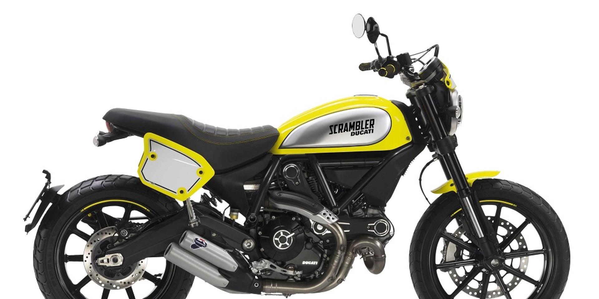 Ducati Scrambler家族新成員 泥地賽車現身