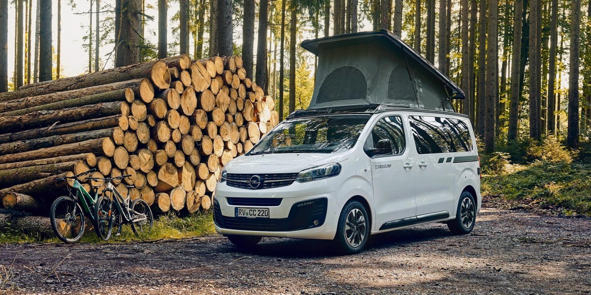 就是要掀頂,Opel推出Zafira Life Crosscamp Lite露營車