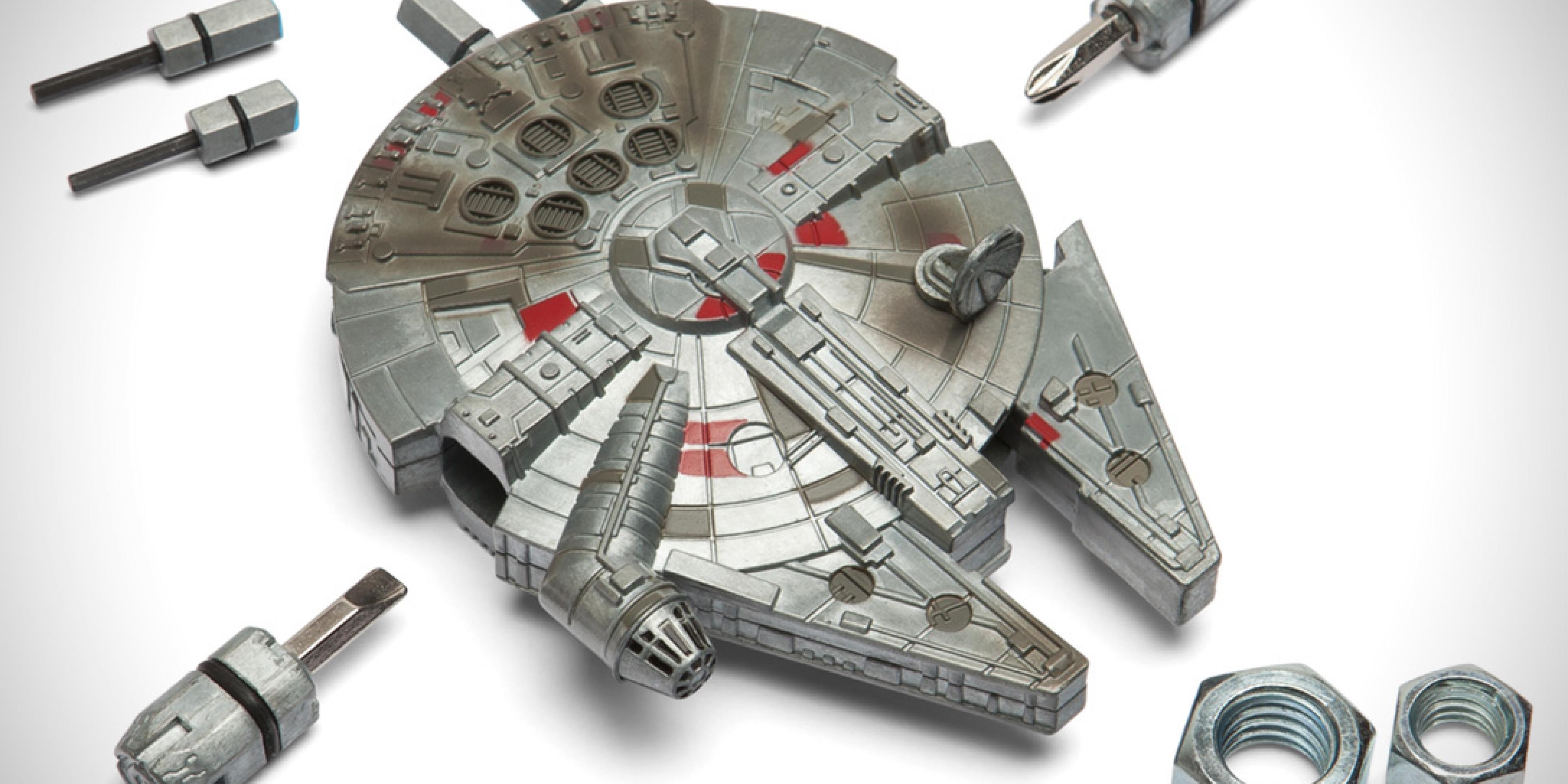 模型變身工具。星際大戰千年鷹號工具組
