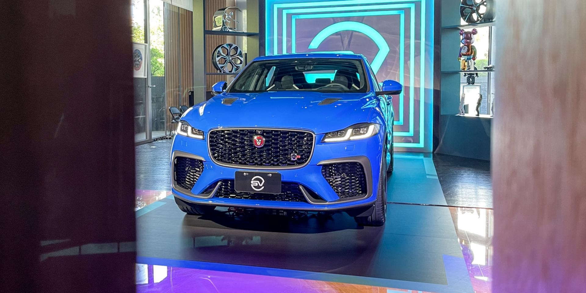 歌頌V8的美好!結合性能與豪華的Jaguar F-Pace SVR!