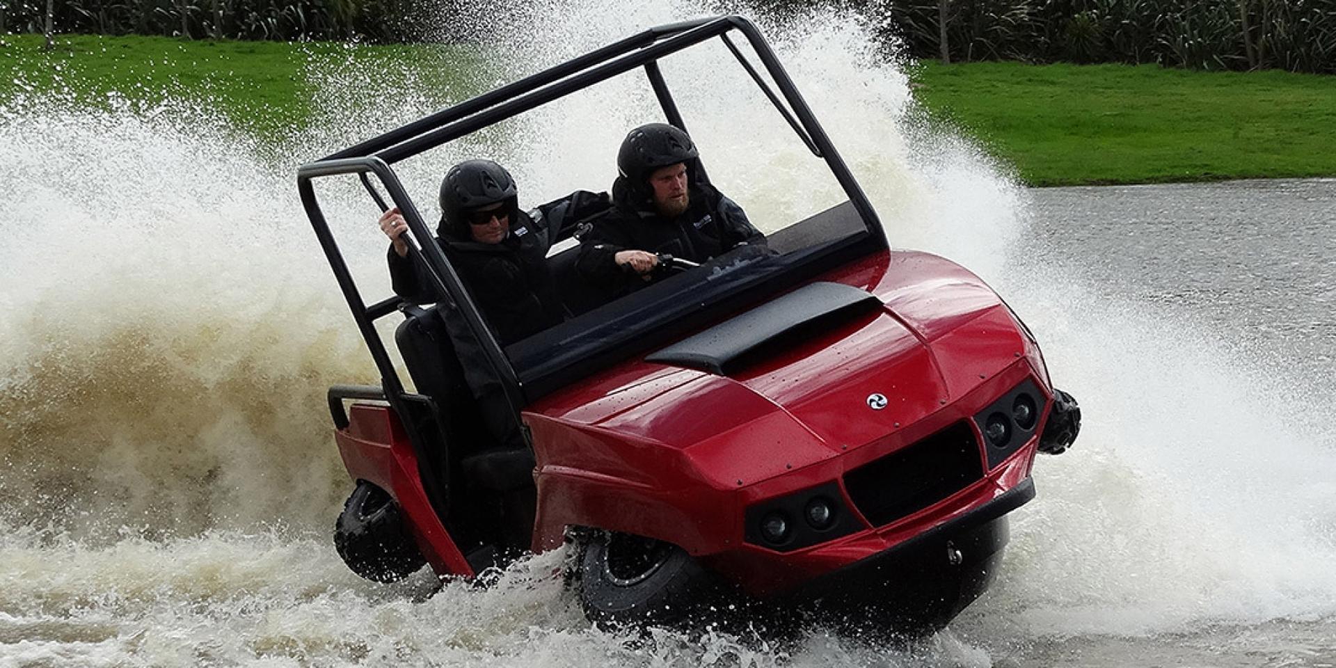 水陸兩用無極限,GIBBS推出全新兩用全地形車