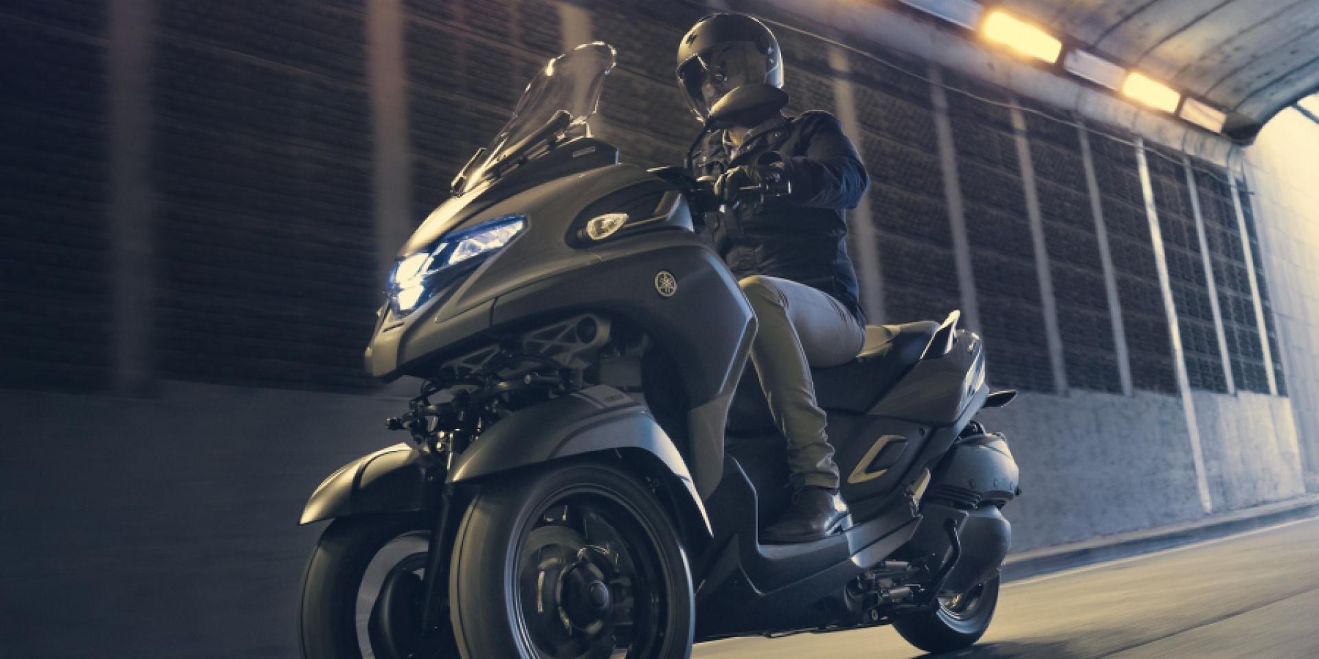 三輪黃羊!YAMAHA Tricity 300東京登場!同場發表全新三輪概念車「MW-VISION」