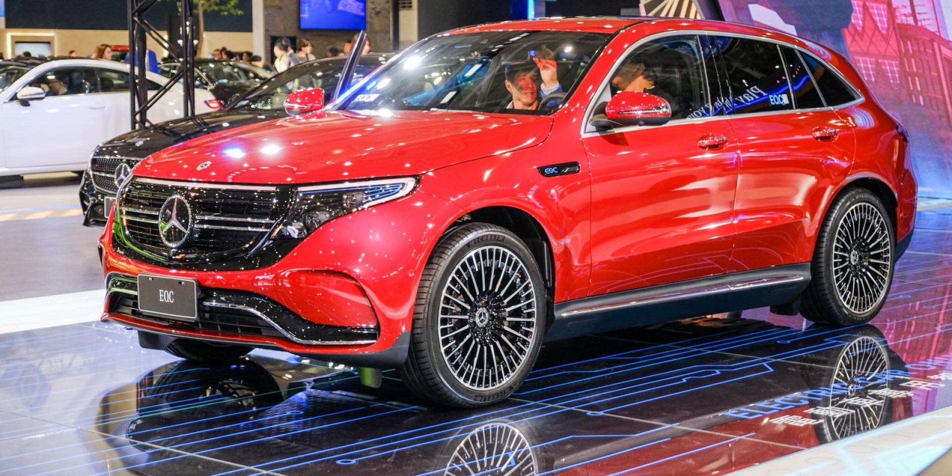 2020世界新車大展。Mercedes-Benz首款電動車預購開跑,330萬即刻入主EQC