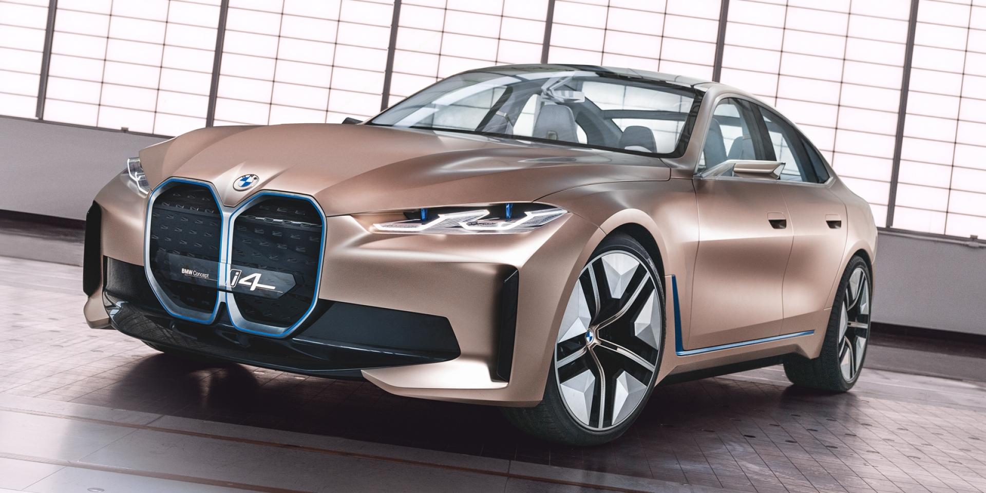 2020消失的日內瓦車展 全新豬鼻來了!BMW Concept i4發表
